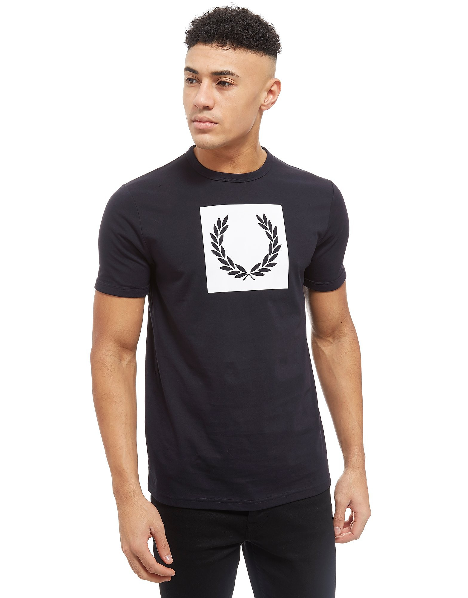 Fred Perry Large Print Laurel T-Shirt