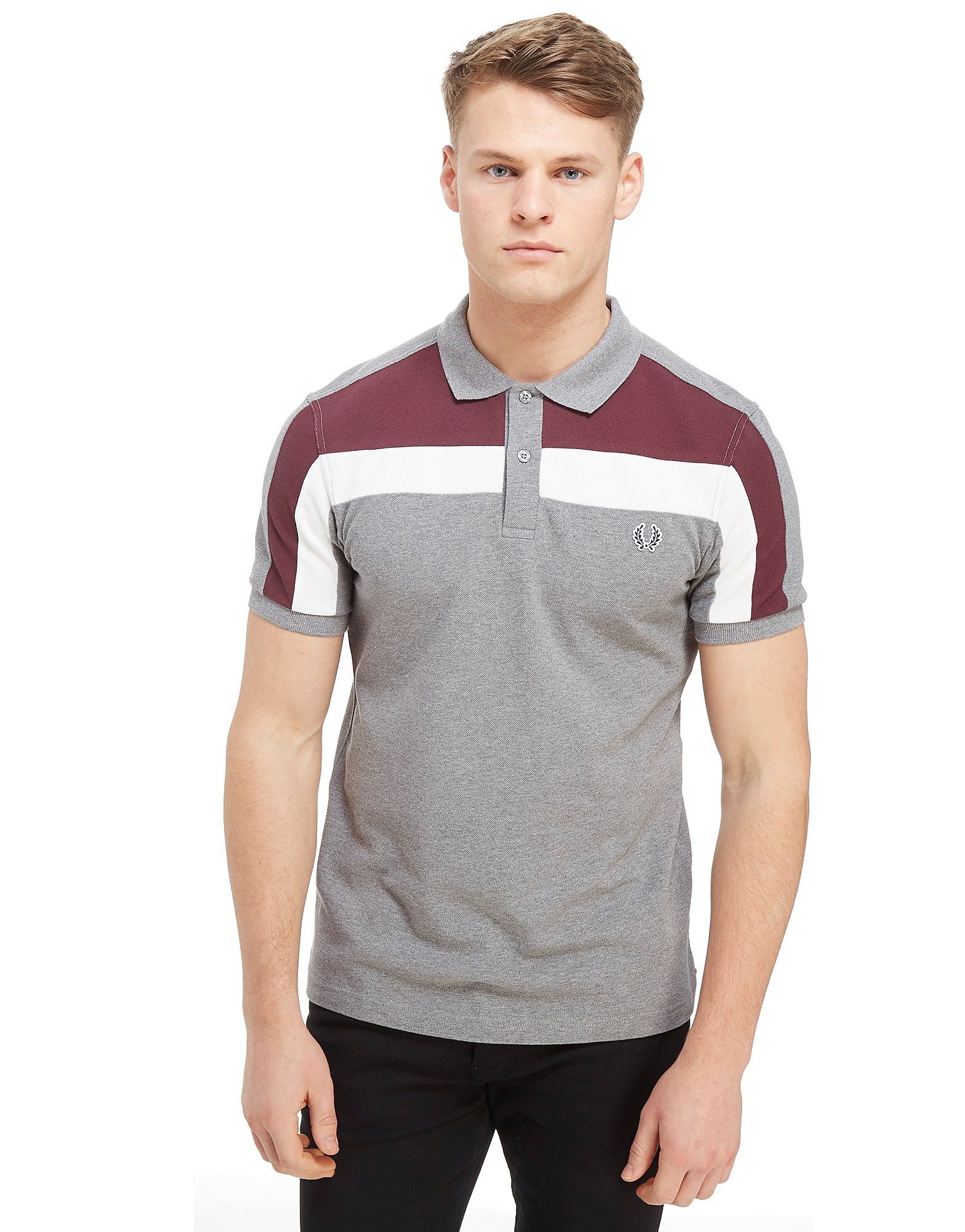 Fred Perry Central Panel Polo Shirt
