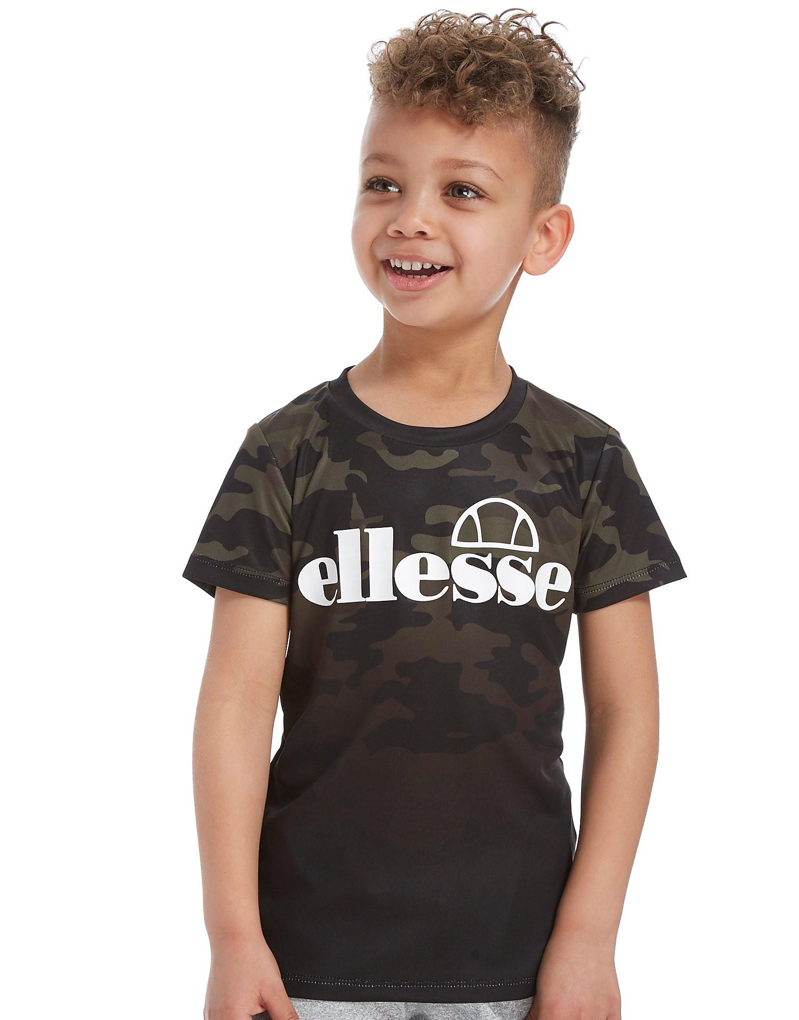 Ellesse Bergio Camo T-Shirt Children