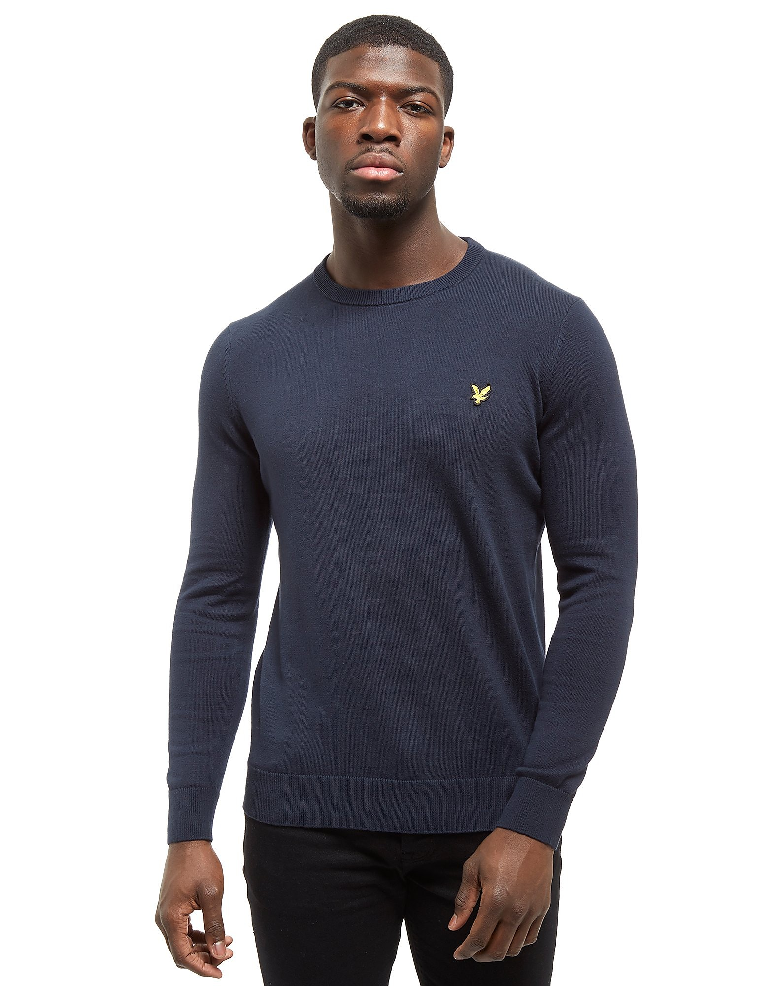 Lyle & Scott Crew Cotton Knit Core Sweatshirt