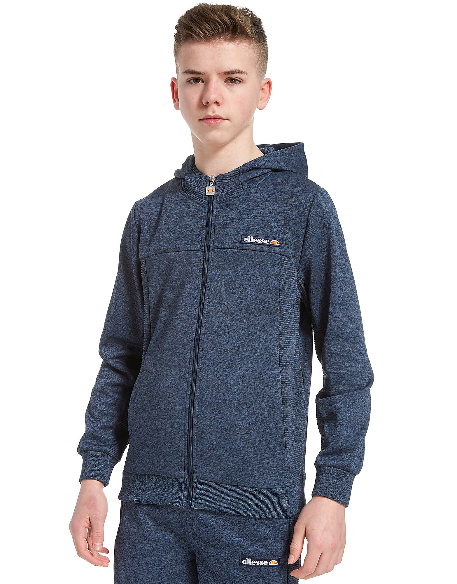 Ellesse Torno Poly Full Zip Hoodie Junior