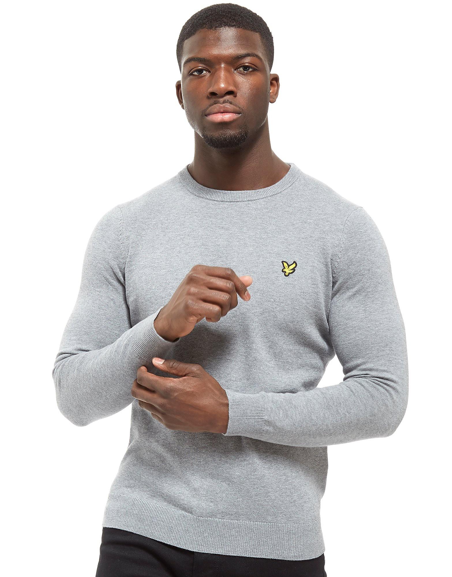 Lyle & Scott Crew Cotton Knit Core Sweatshirt