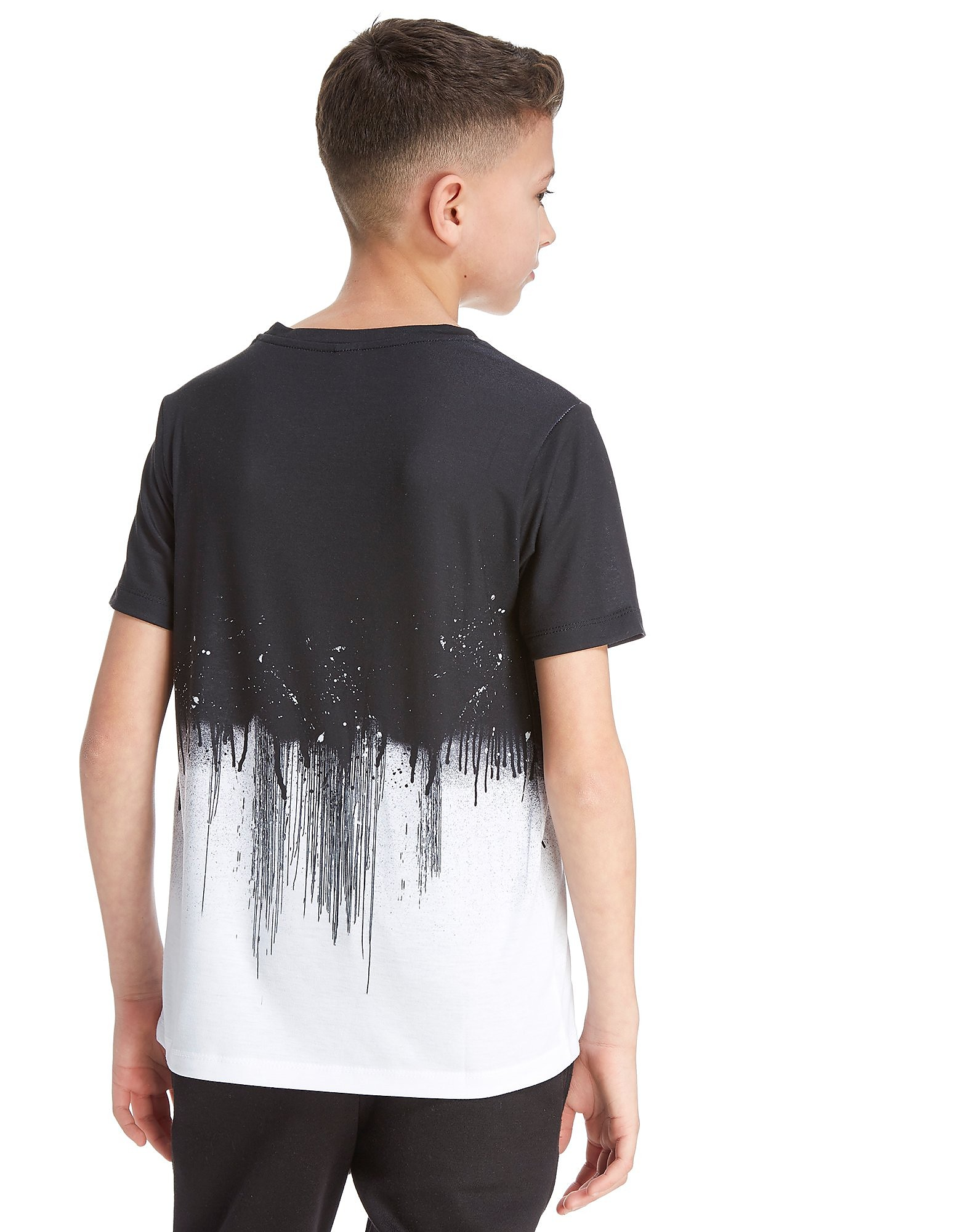 Hype Half Drip T-Shirt Junior