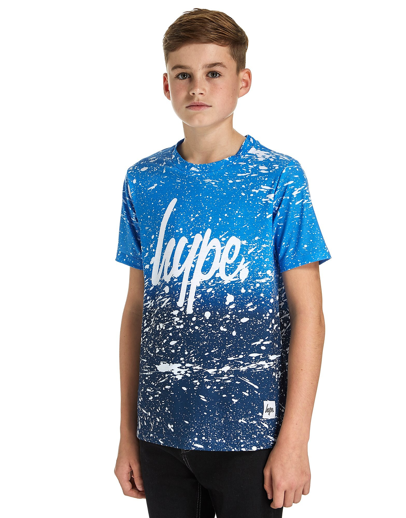 Hype Speckle Fade T-Shirt Junior - Blauw - Kind