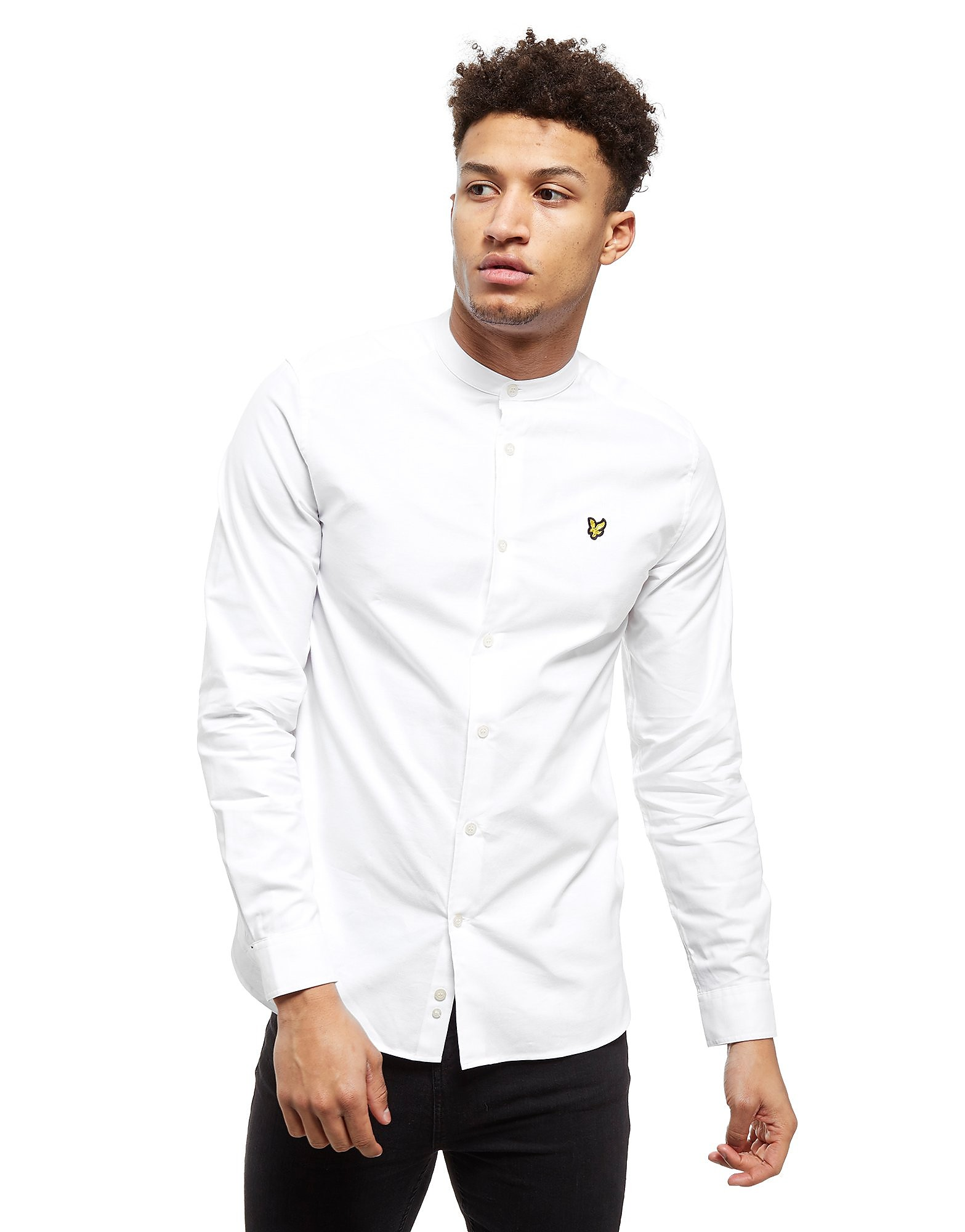 Lyle & Scott Grandad Collar Camicia