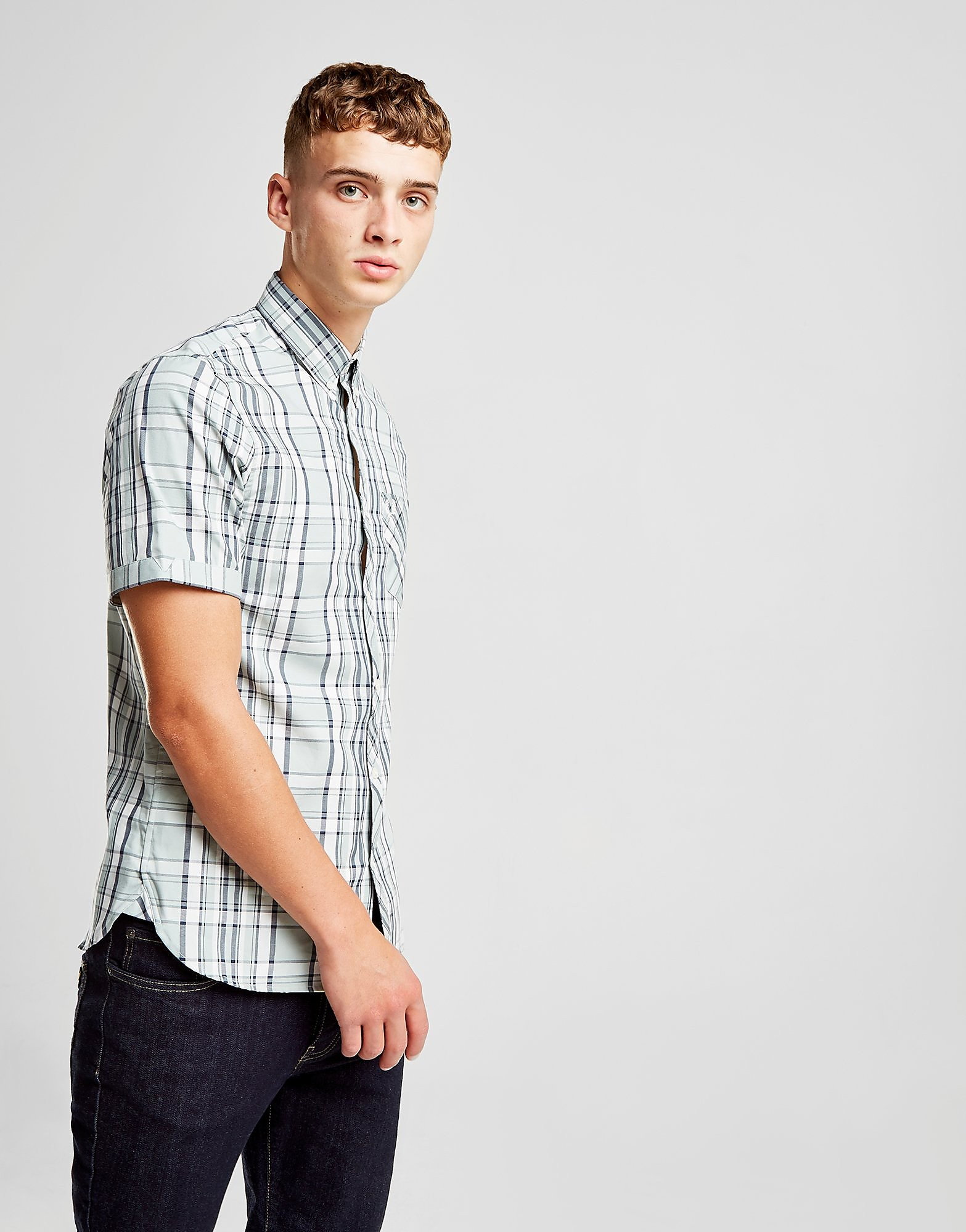 Fred Perry Short Sleeve Check Shirt