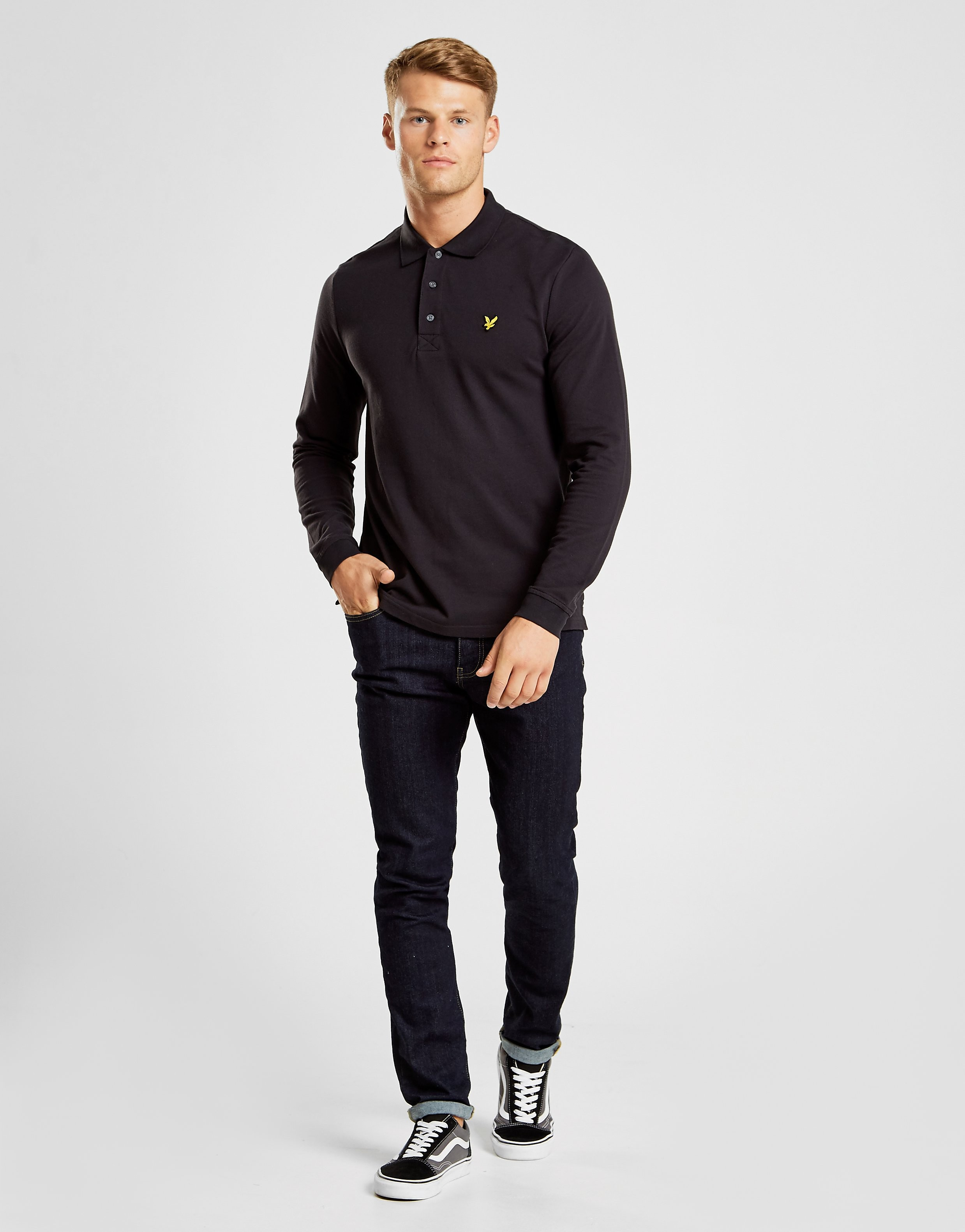 Lyle & Scott Long Sleeve Core Polo Shirt