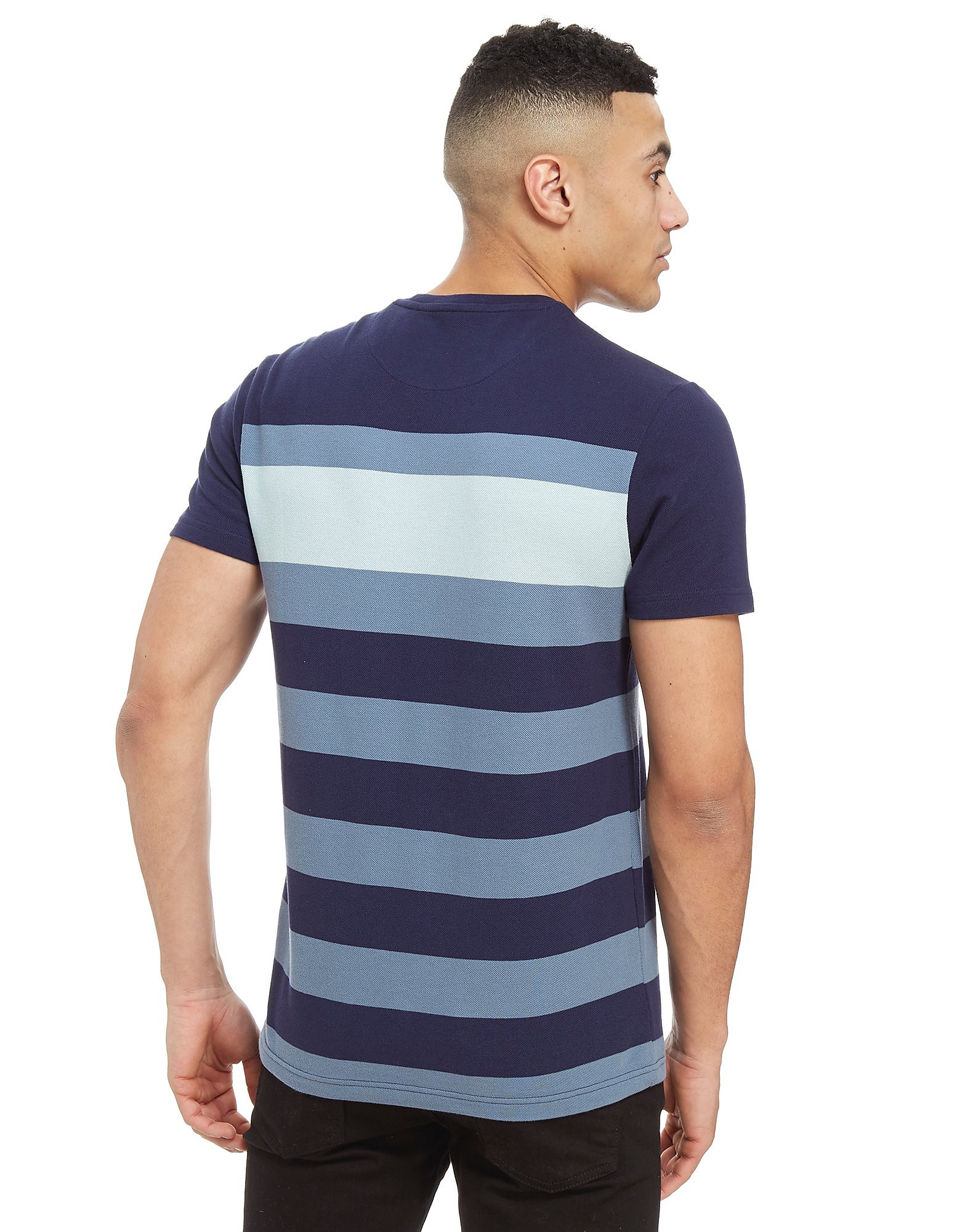 Lyle & Scott T-shirt Large Stripe Home