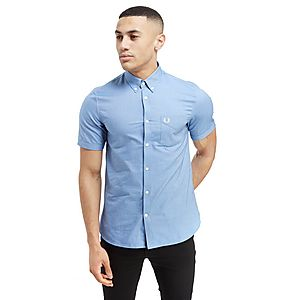 Fred Perry Short Sleeve Oxford Shirt ...