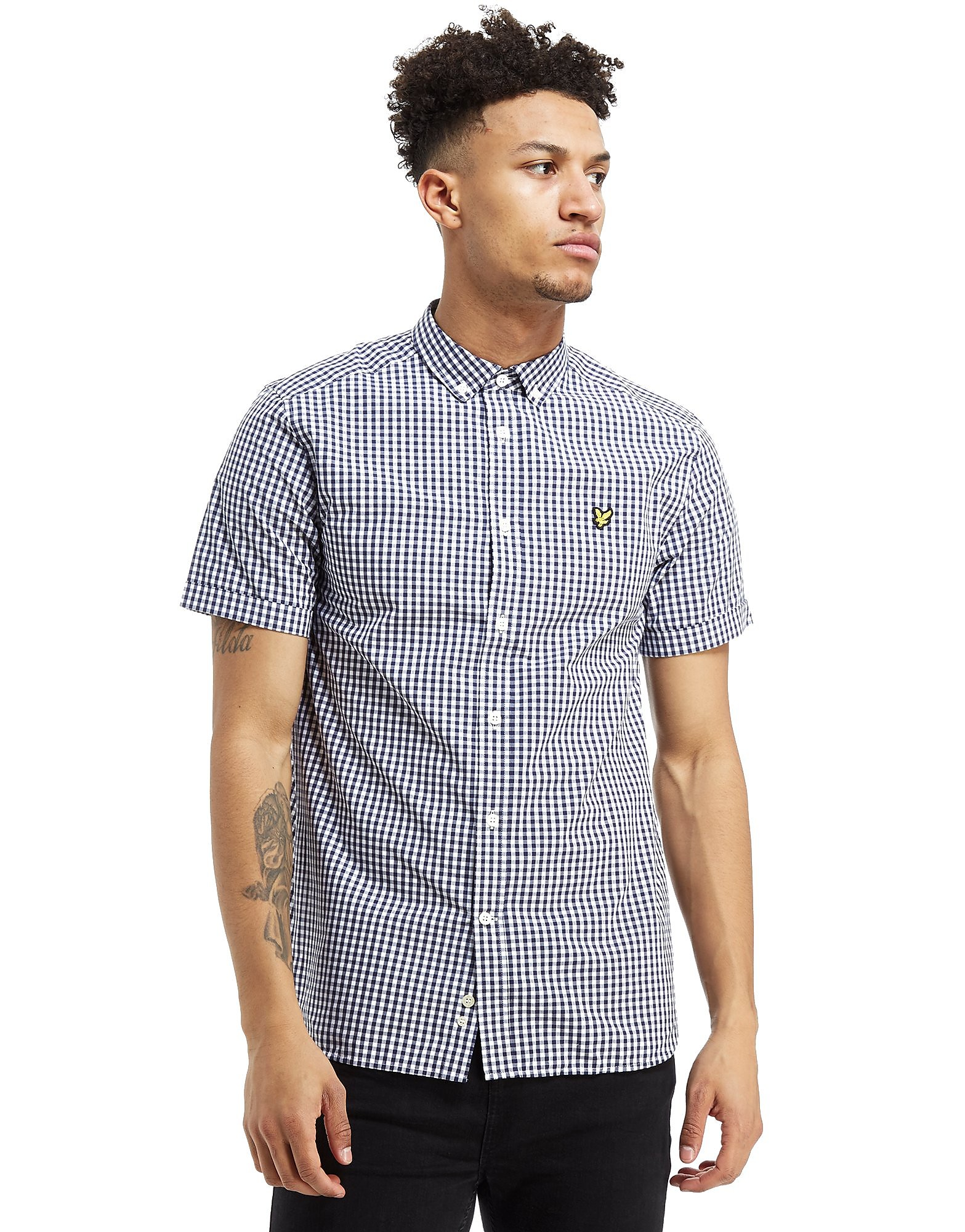 Lyle & Scott Short Sleeve Gingham Check Shirt