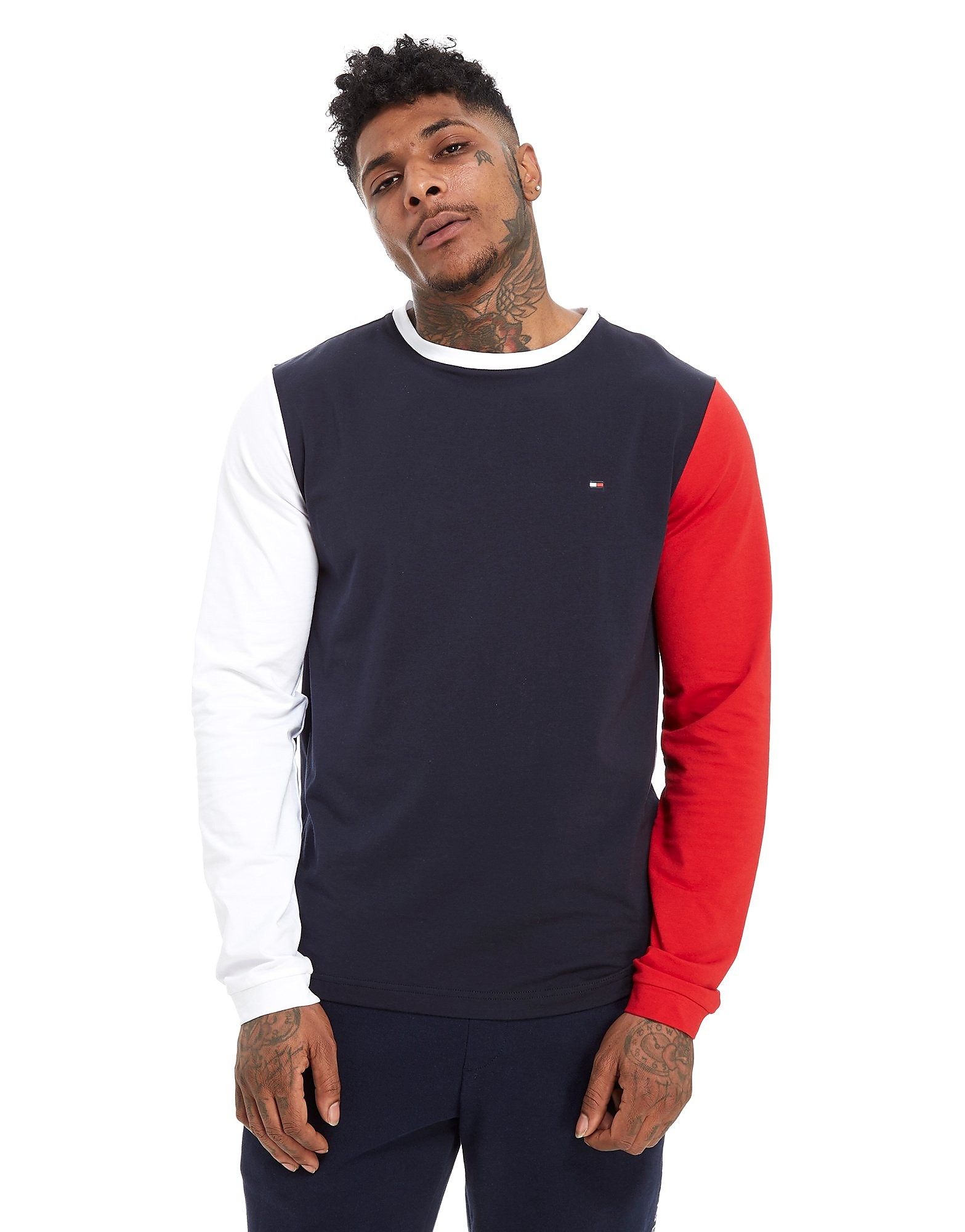 Tommy Hilfiger Long Sleeve Colourblock T-Shirt