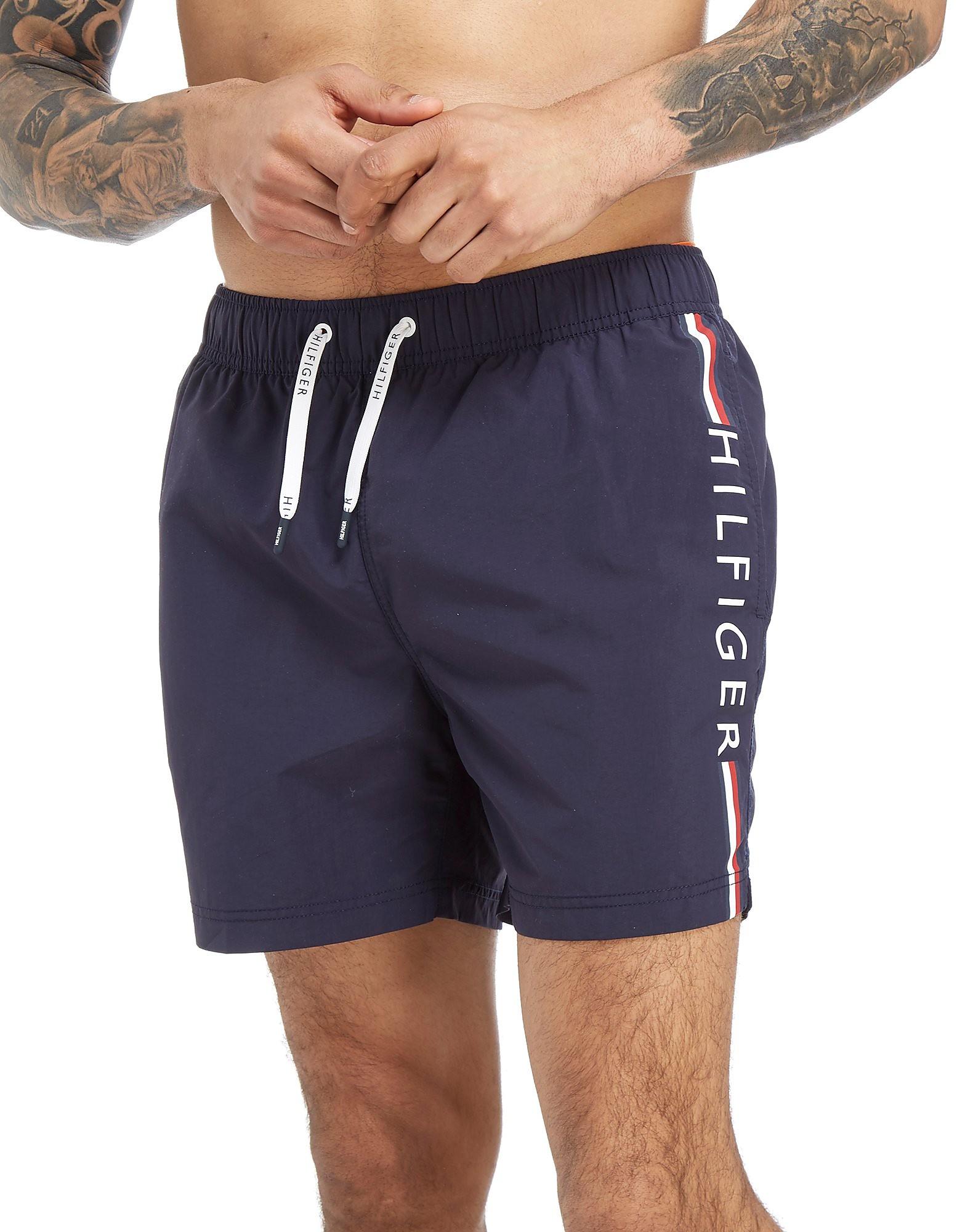 Tommy Hilfiger Side Print Swim Shorts
