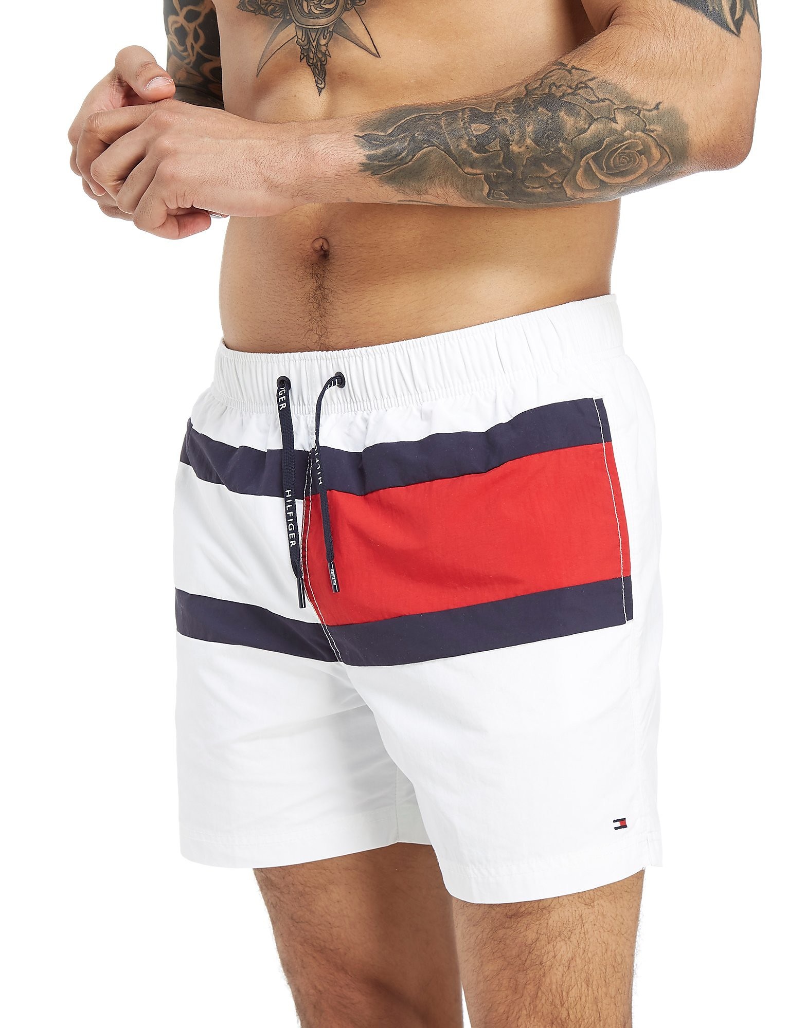 Tommy Hilfiger Central Flag Swim Shorts