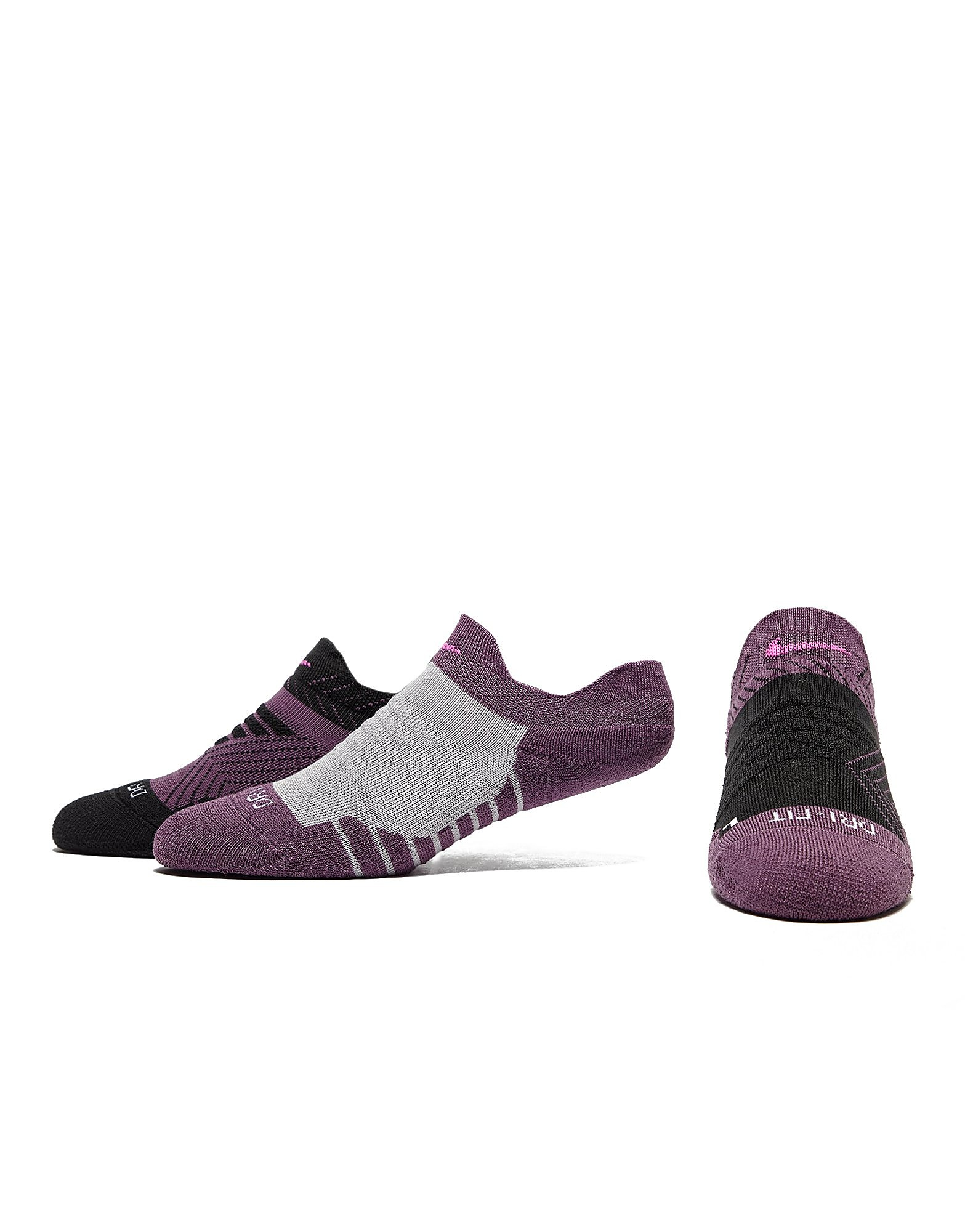 Nike pack de 3 calcetines invisibles Cushion