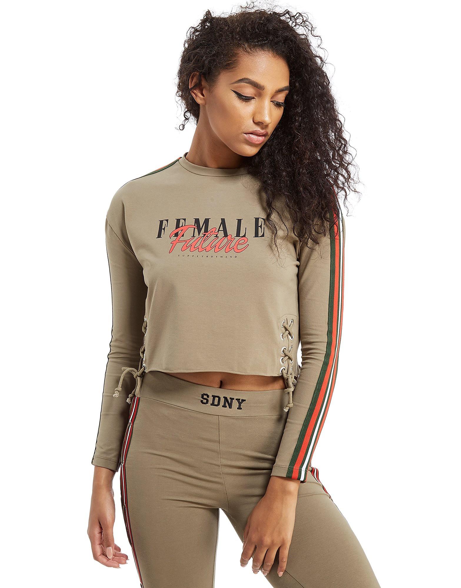 Supply & Demand Lace Tape T-Shirt