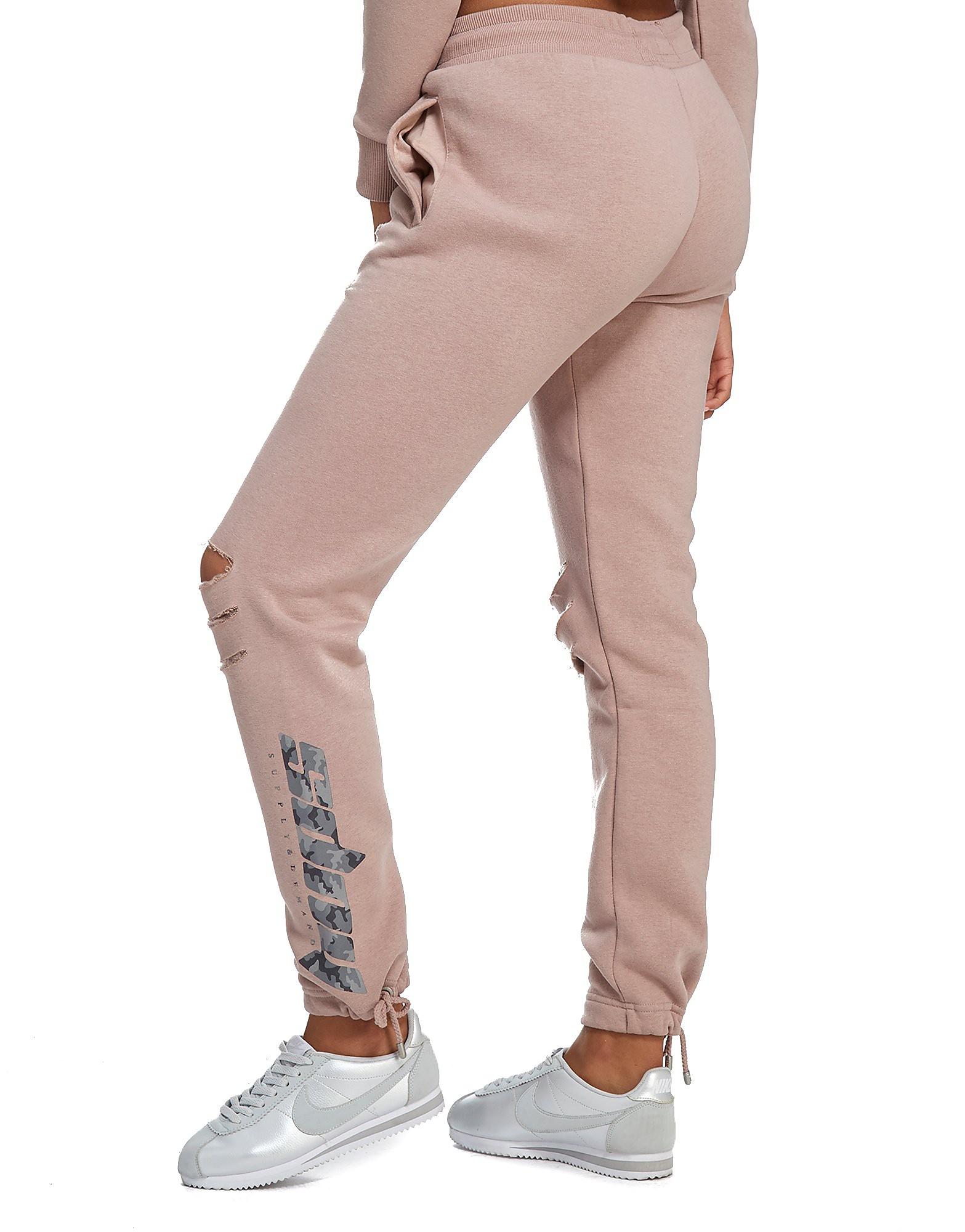 Supply & Demand Camo Tie Joggers