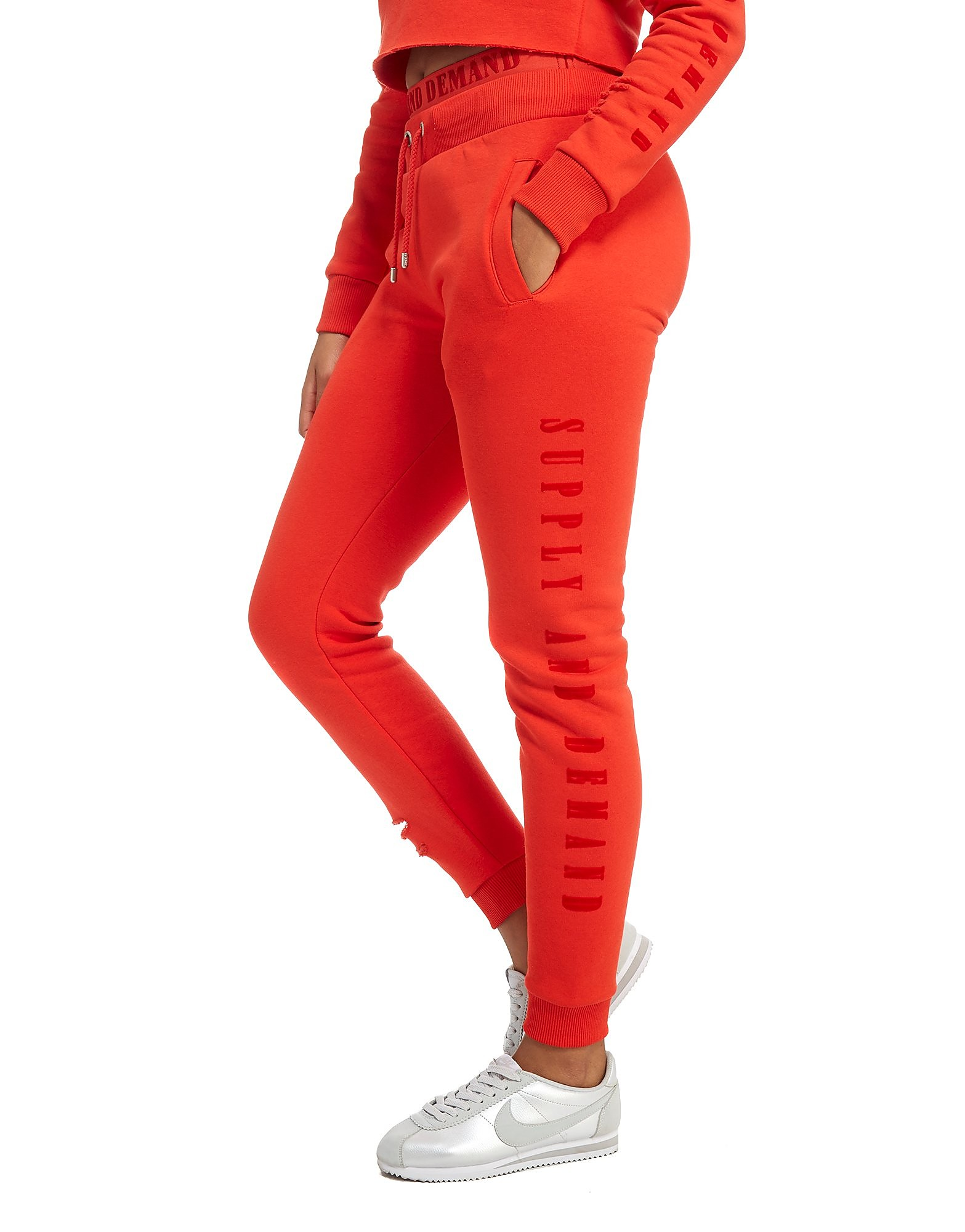 Supply & Demand Rip Joggers - Only at JD - Red, Red