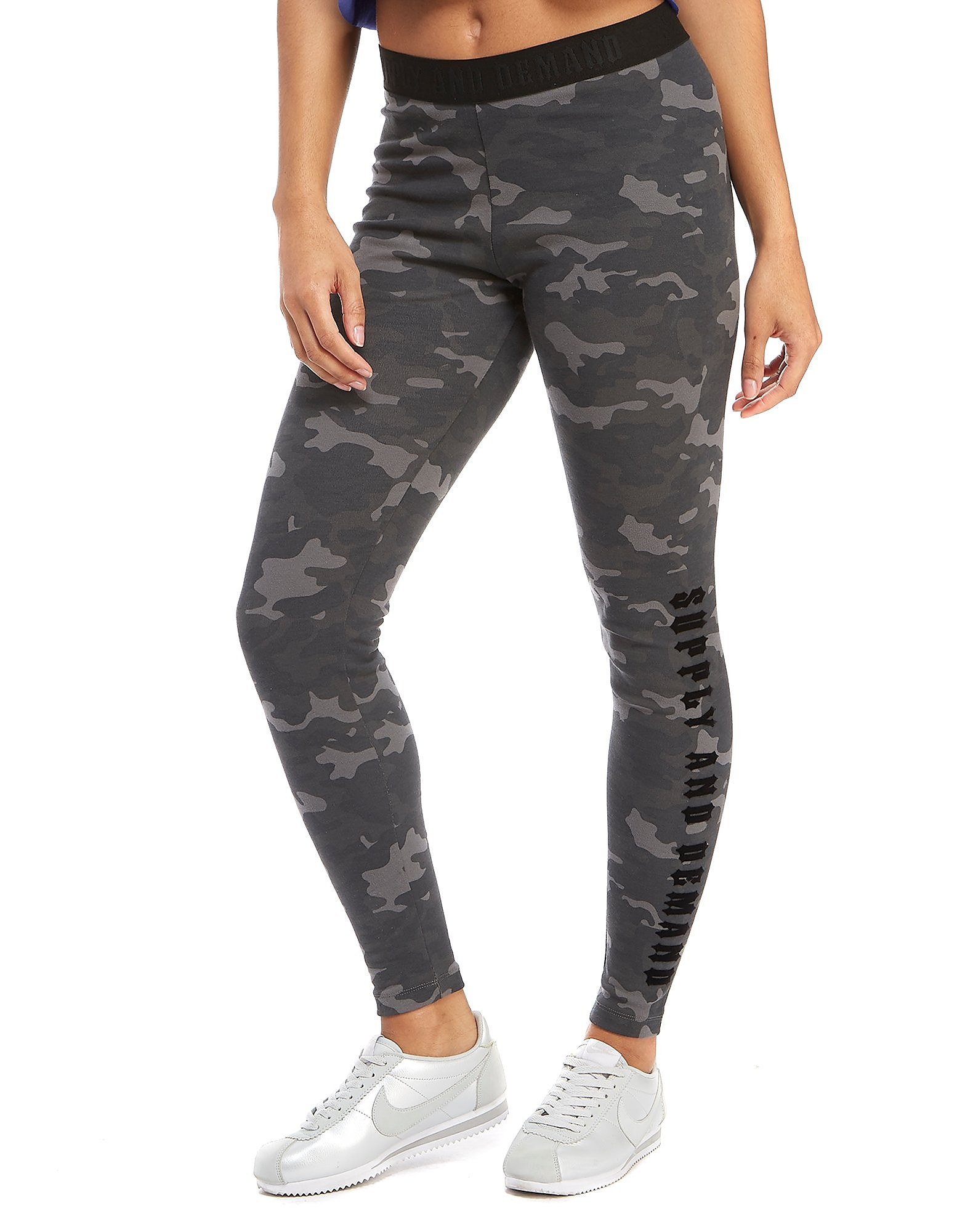 Supply & Demand Camo Logo Leggings