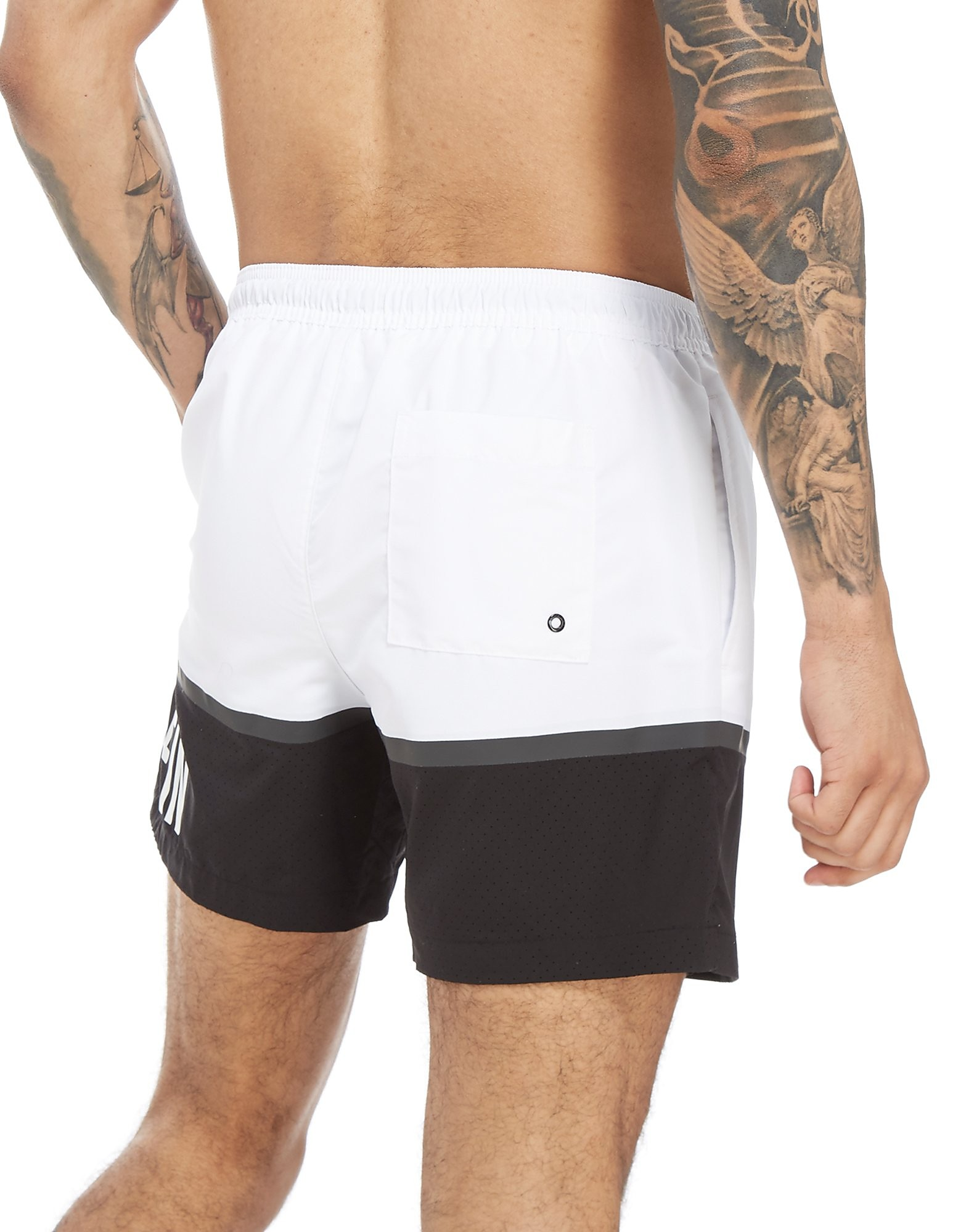 Calvin Klein Colourblock Side Logo Swim Shorts