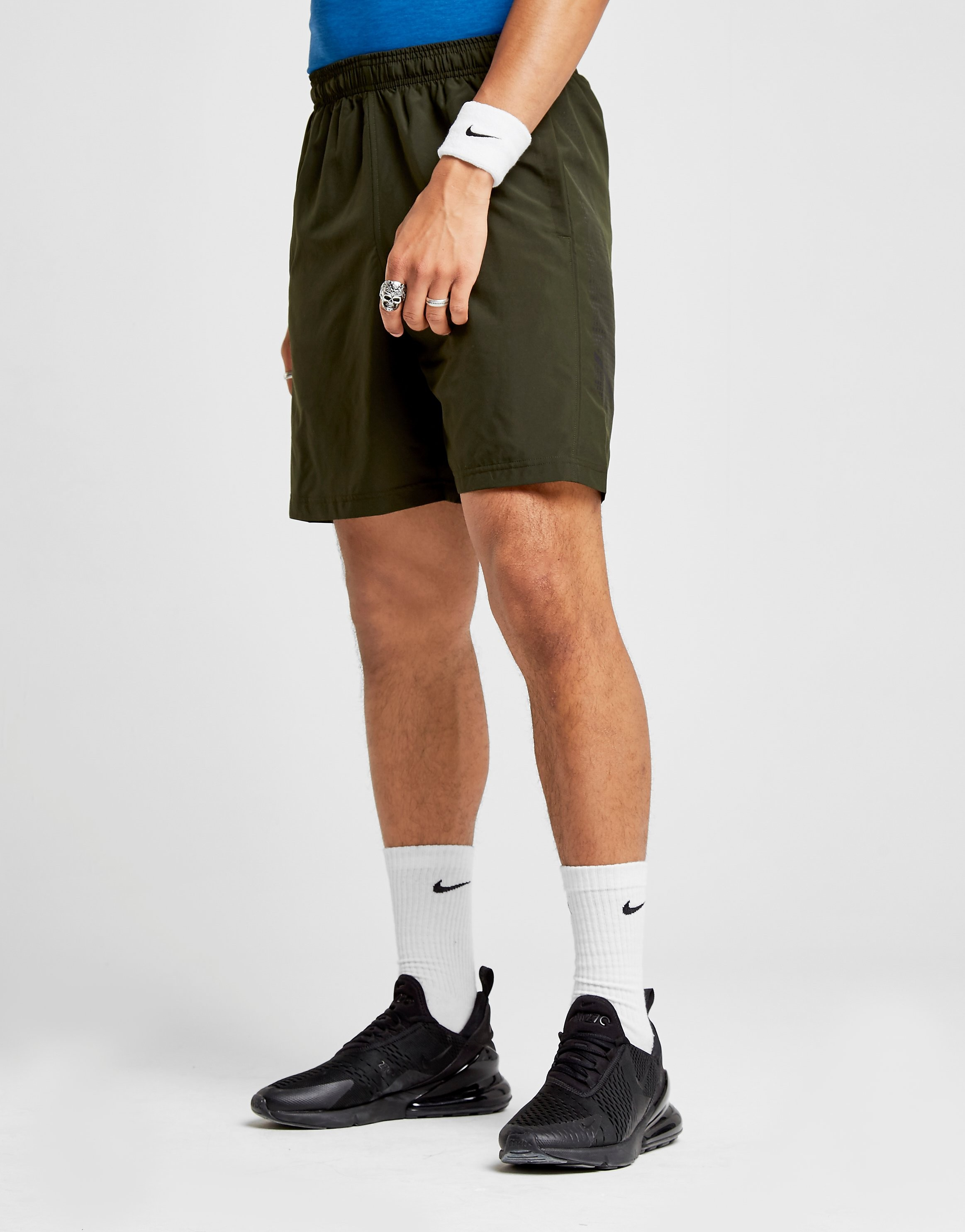 Under Armour Woven Graphic Shorts Heren - Groen - Heren