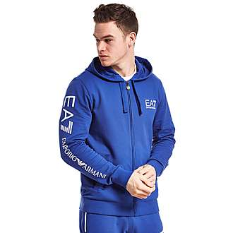 Emporio Armani EA7 Sleeve Logo Zip Up Hoody