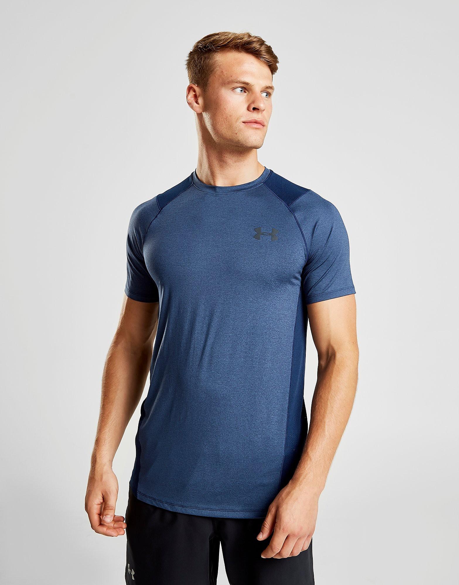 Under Armour Threadborne Elite T-Shirt Heren - Blauw - Heren