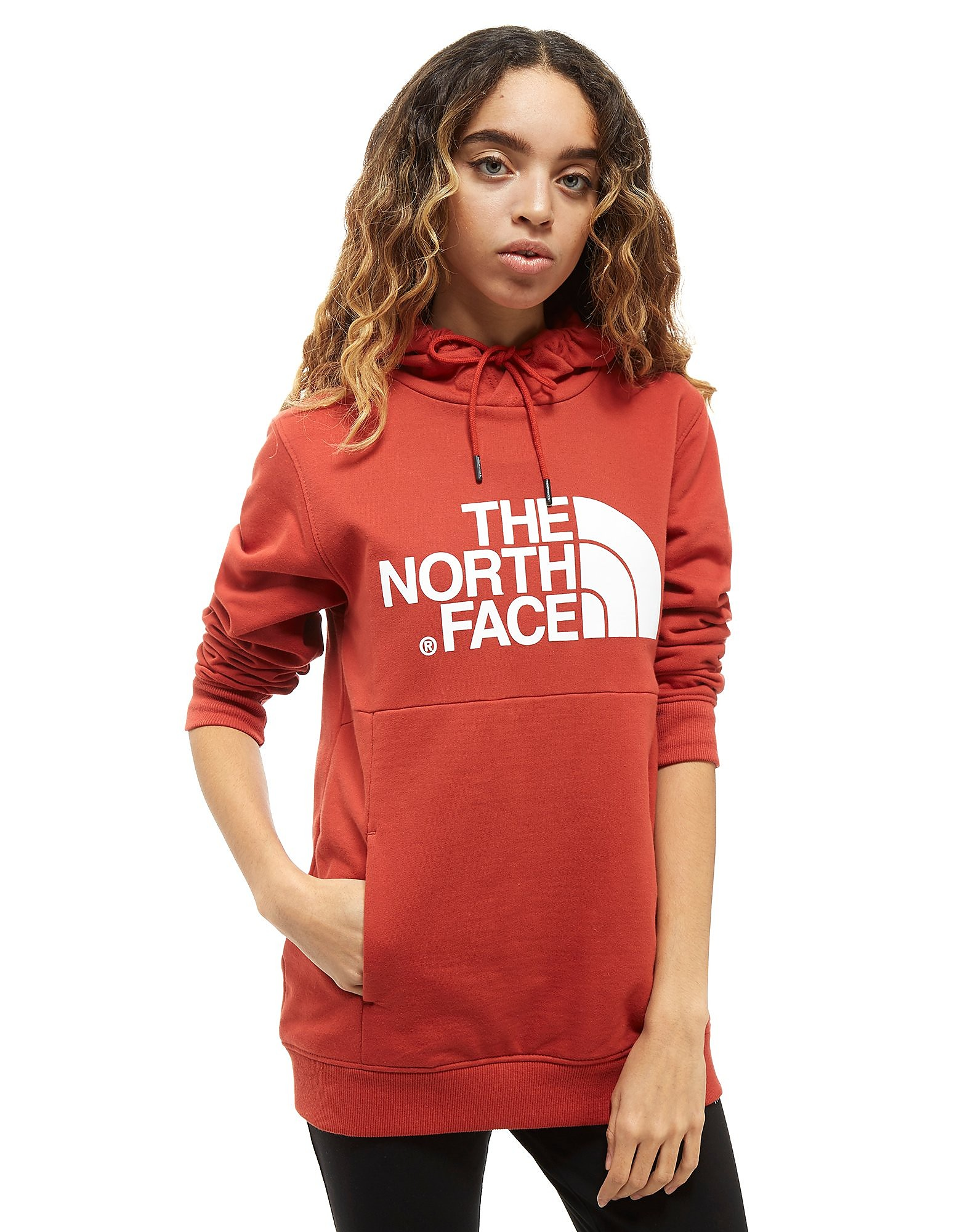 The North Face Drew Peak Overhead Felpa con Cappuccio Donna
