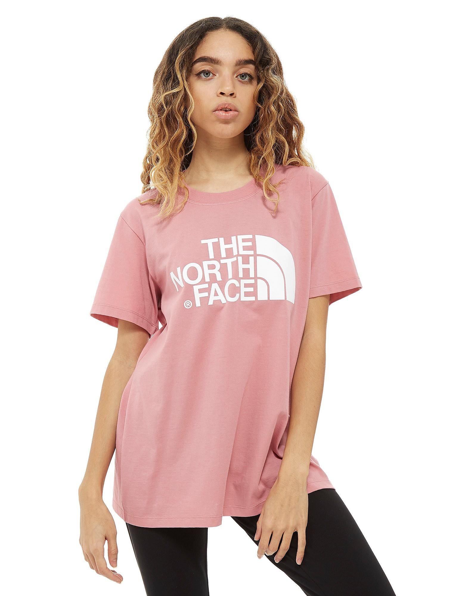 The North Face Logo Boyfriend T-Shirt Donna