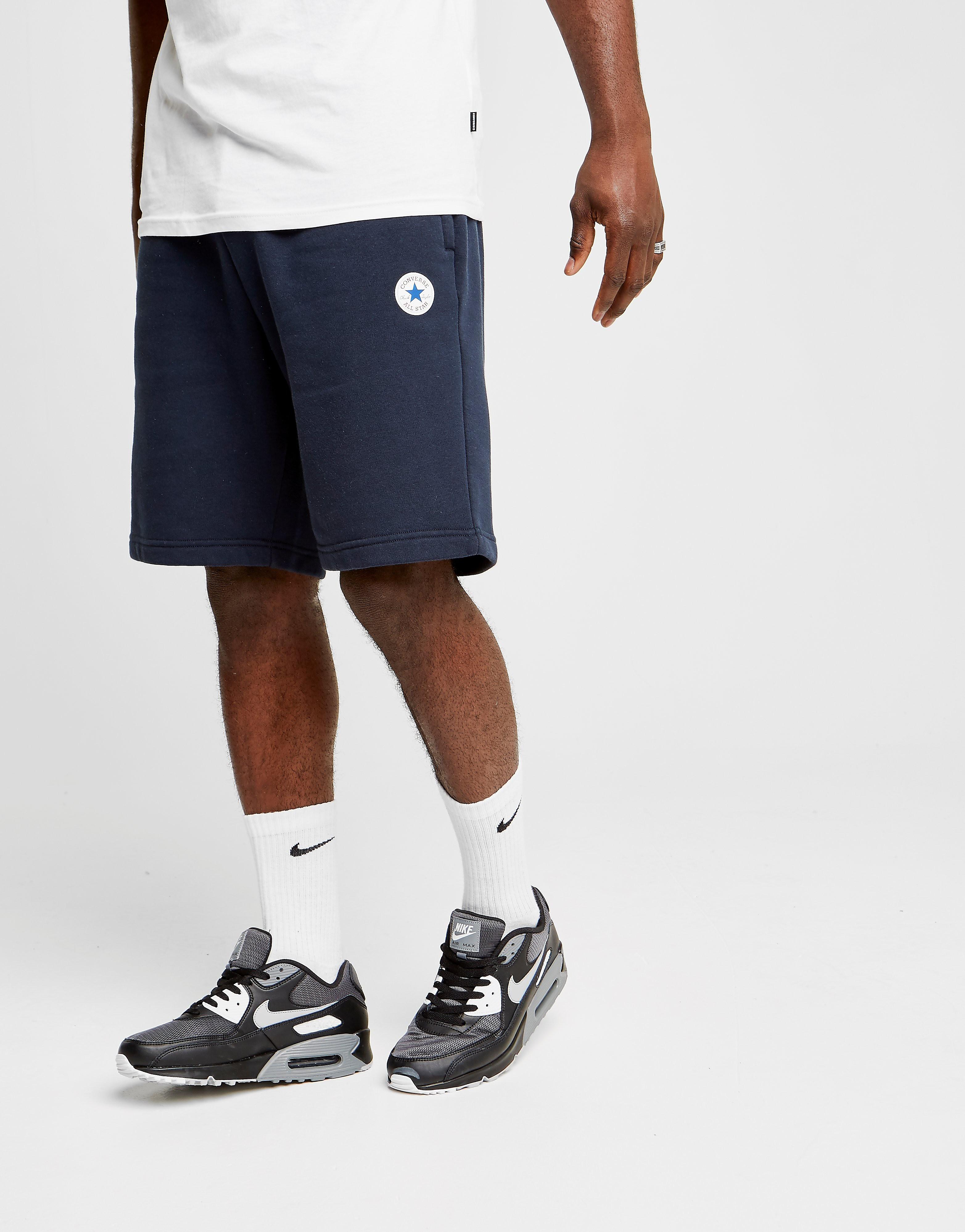 Converse Chuck Fleece Shorts Heren - Blauw - Heren