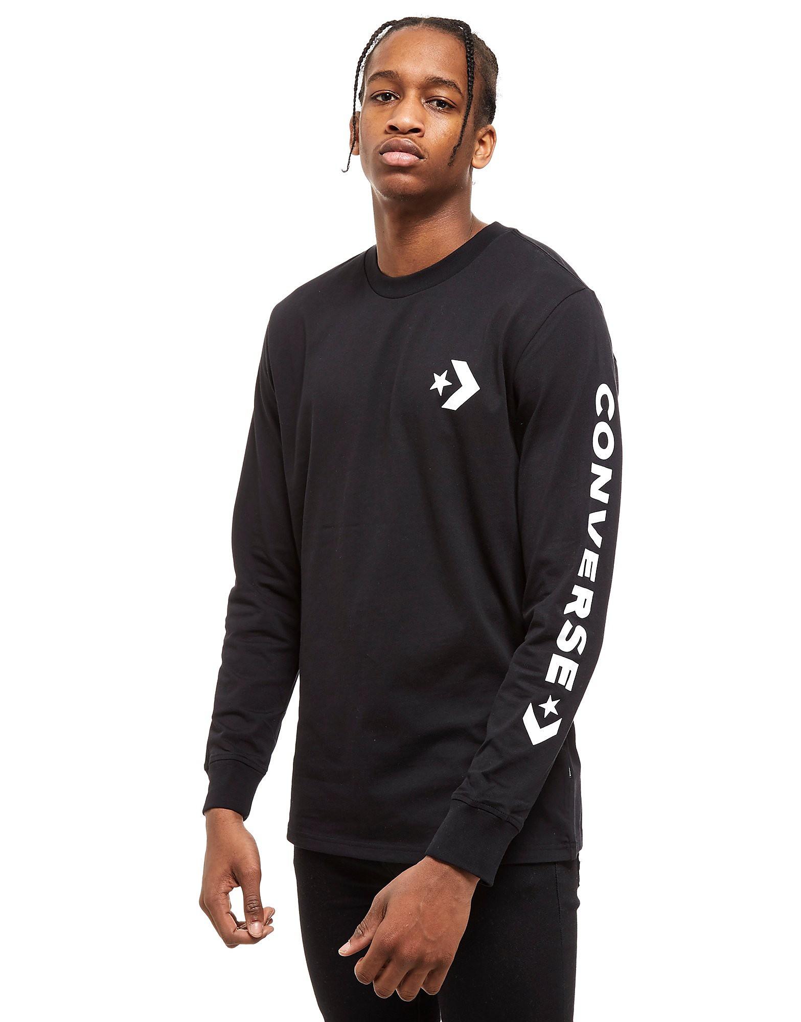 Converse camiseta de manga larga Star Chevron