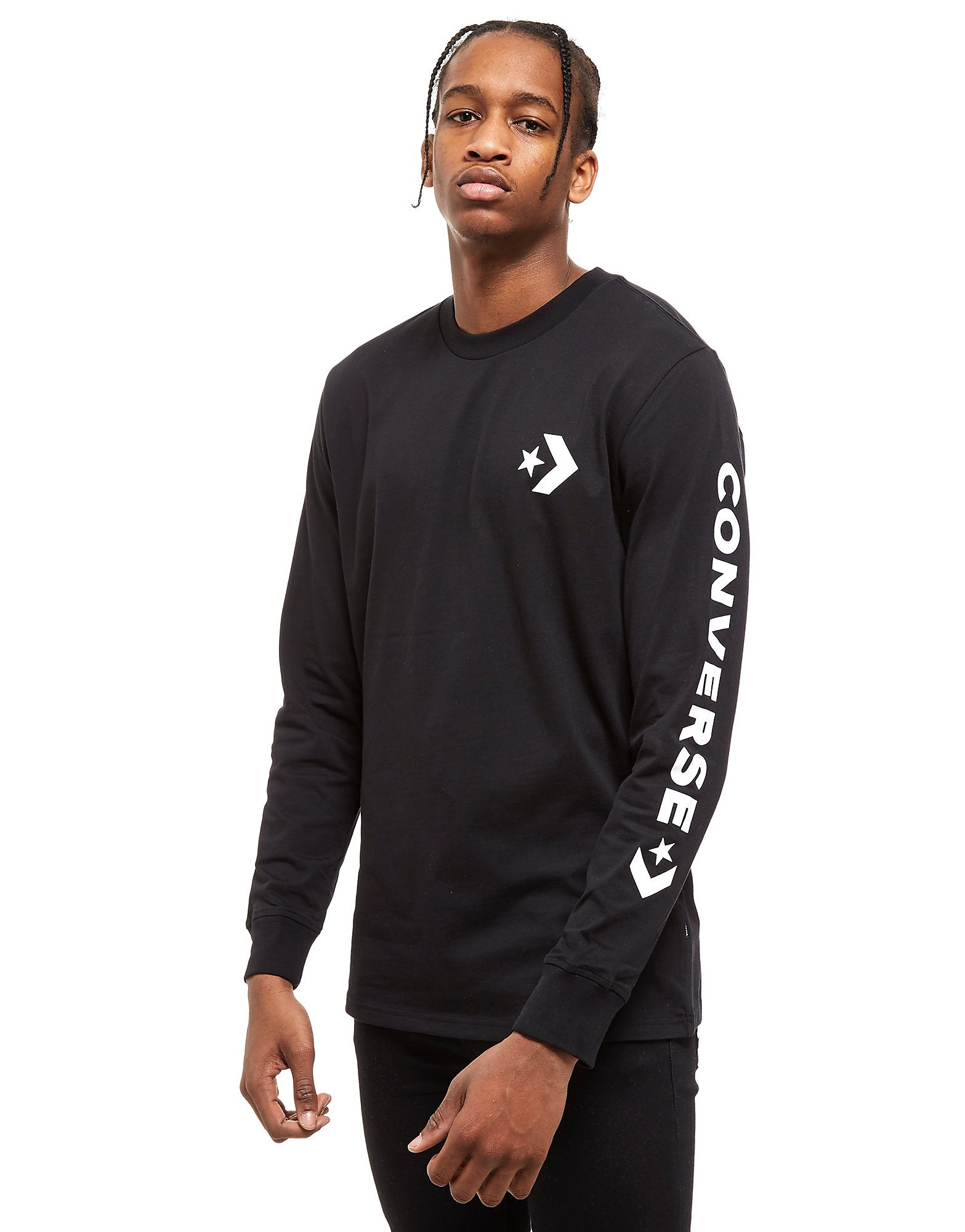 Converse Star Chevron Long Sleeve T-Shirt