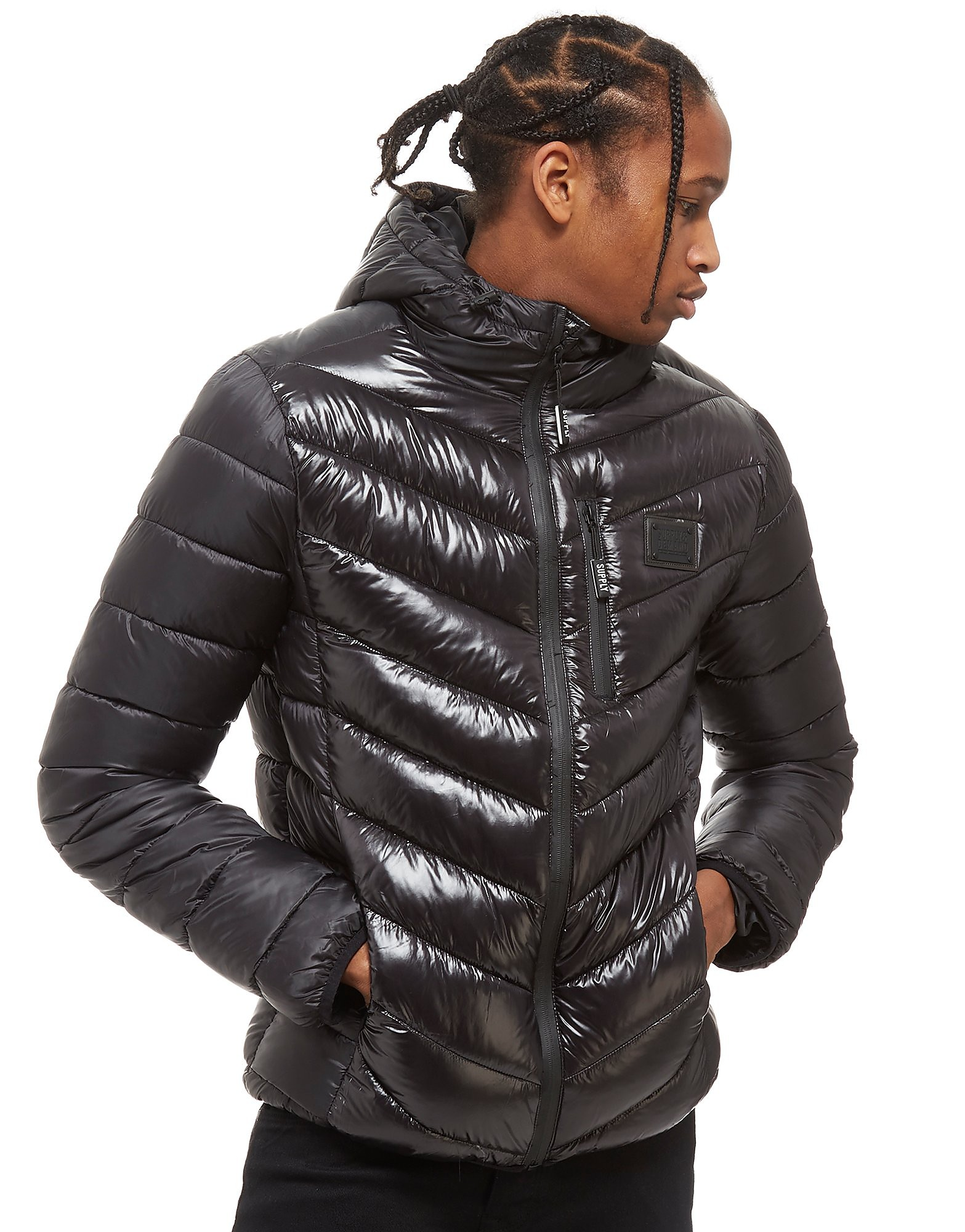 Supply & Demand Snake Jacket Heren