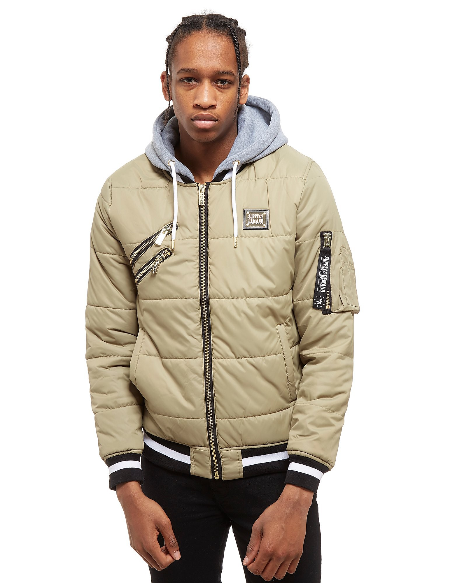Supply & Demand Power Jacket - Only at JD, Beige