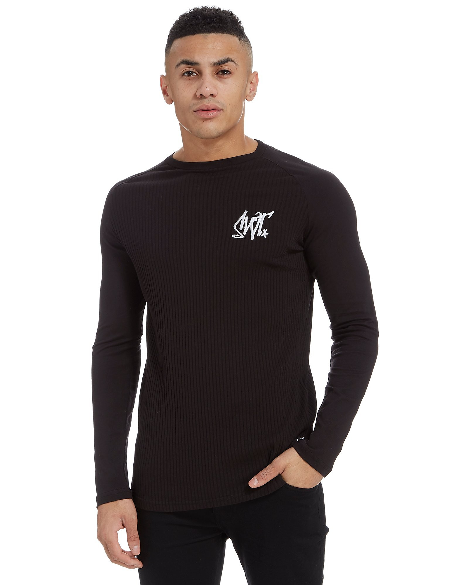 Sonneti Ribbed Raglan Long Sleeve T-Shirt