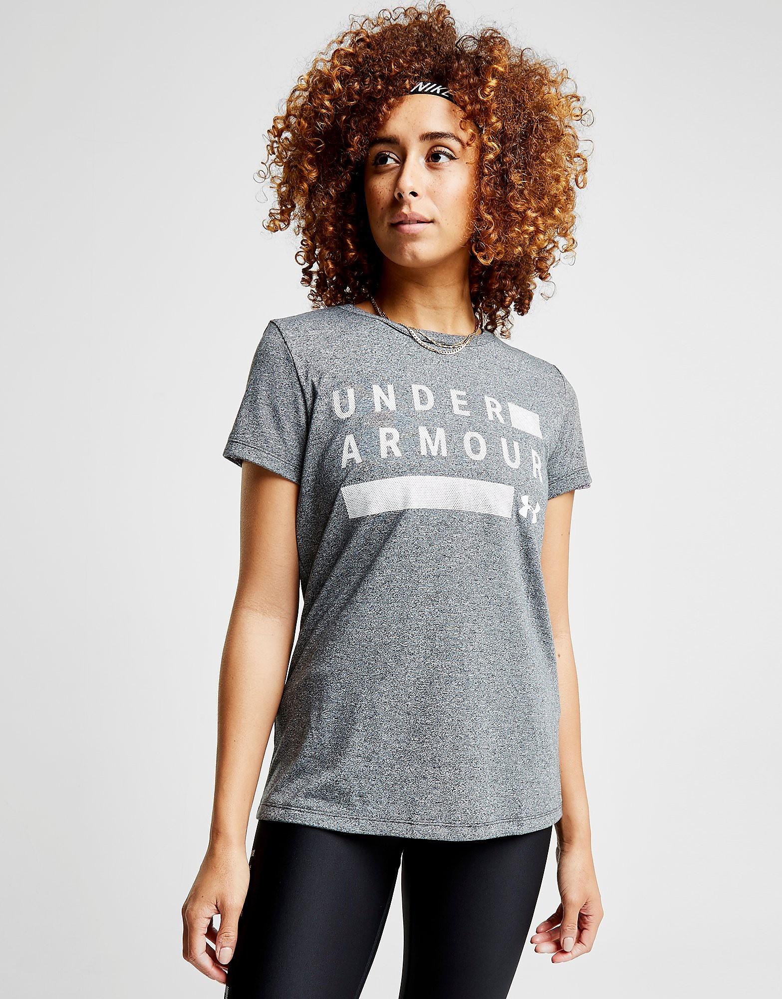 Under Armour Threadborne Twist T-Shirt Dames