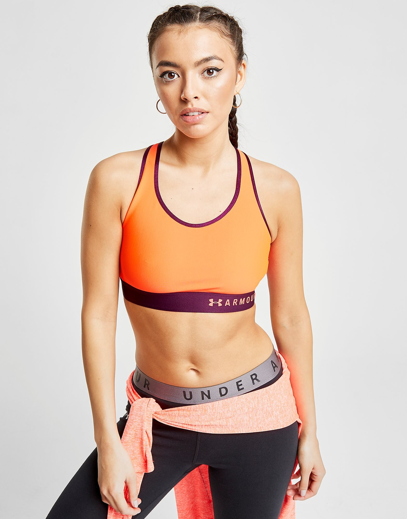 Under Armour Mid Sports Bra Dames