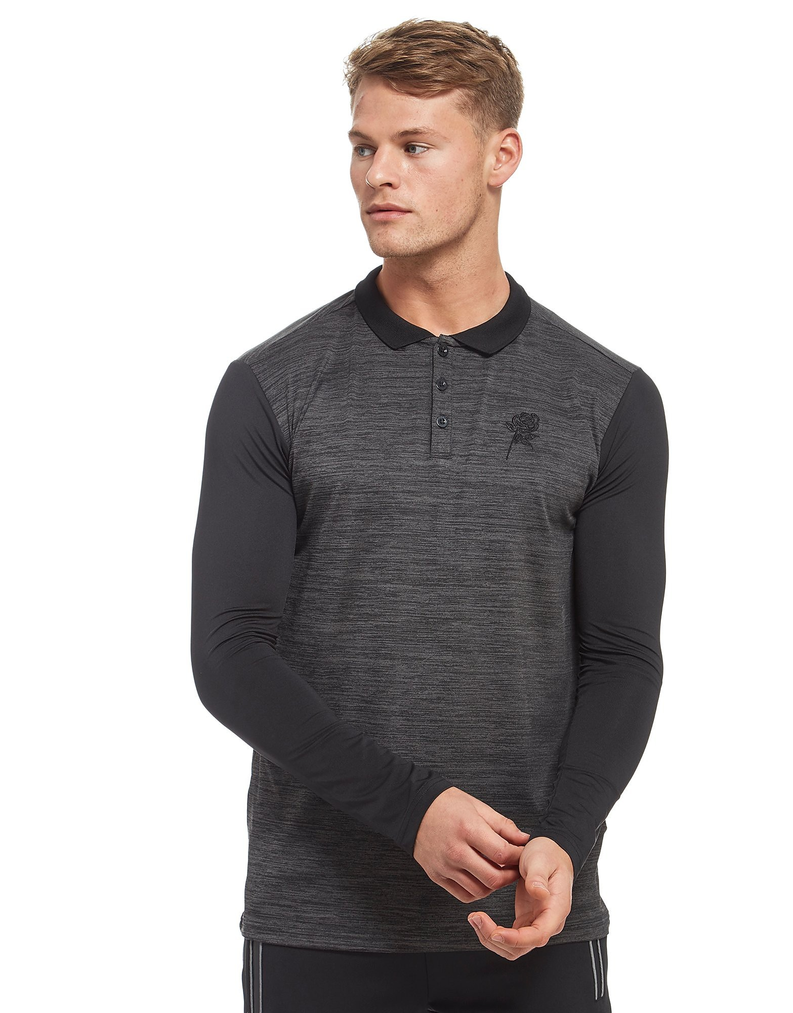 Supply & Demand Oak Long Sleeve Polo - Only at JD, Grey