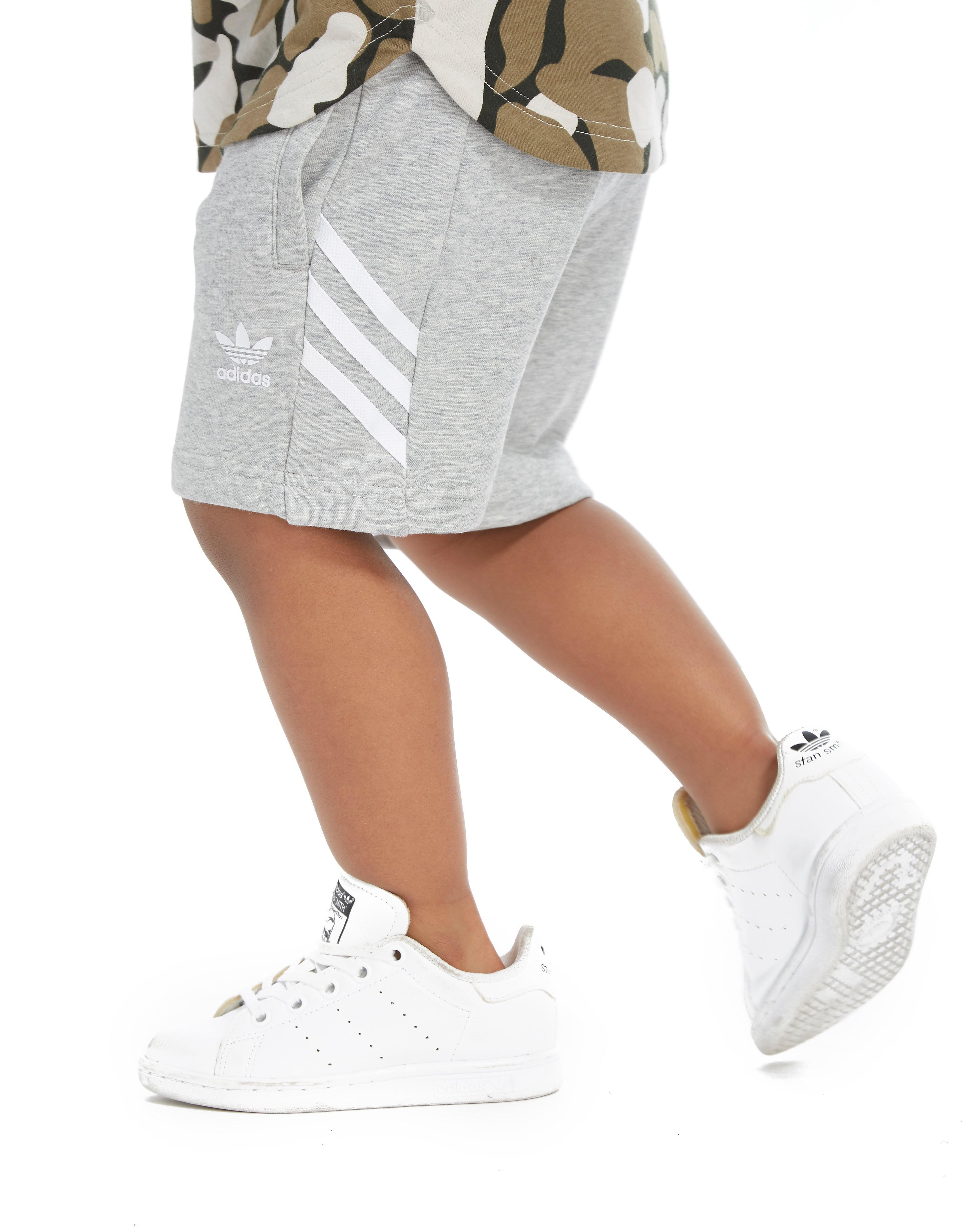adidas Originals Fleece Shorts Kinderen - alleen bij JD - Grijs - Kind