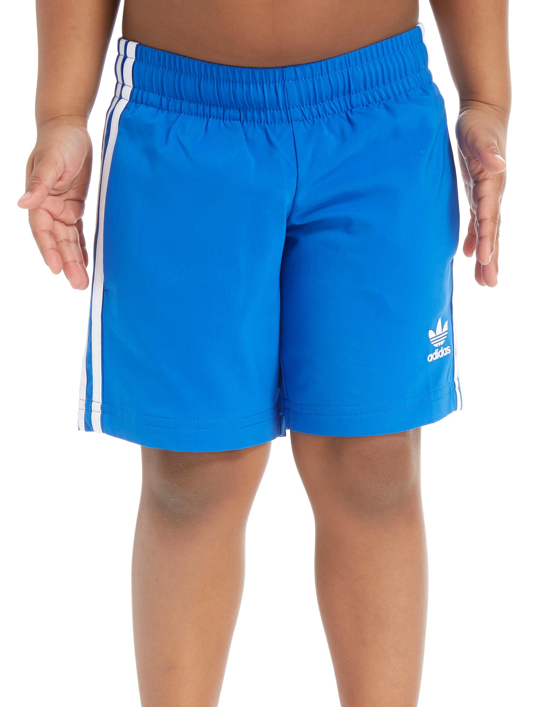adidas Originals Swimming Shorts Children - Only at JD - Blau - Kids, Blau