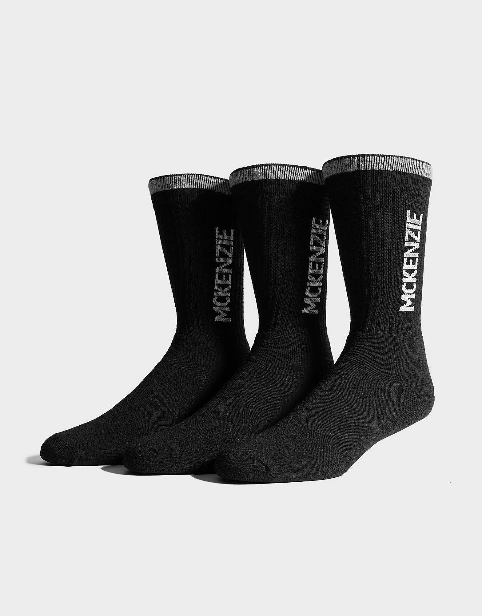 McKenzie Lot de 3paires de chaussettes de sport