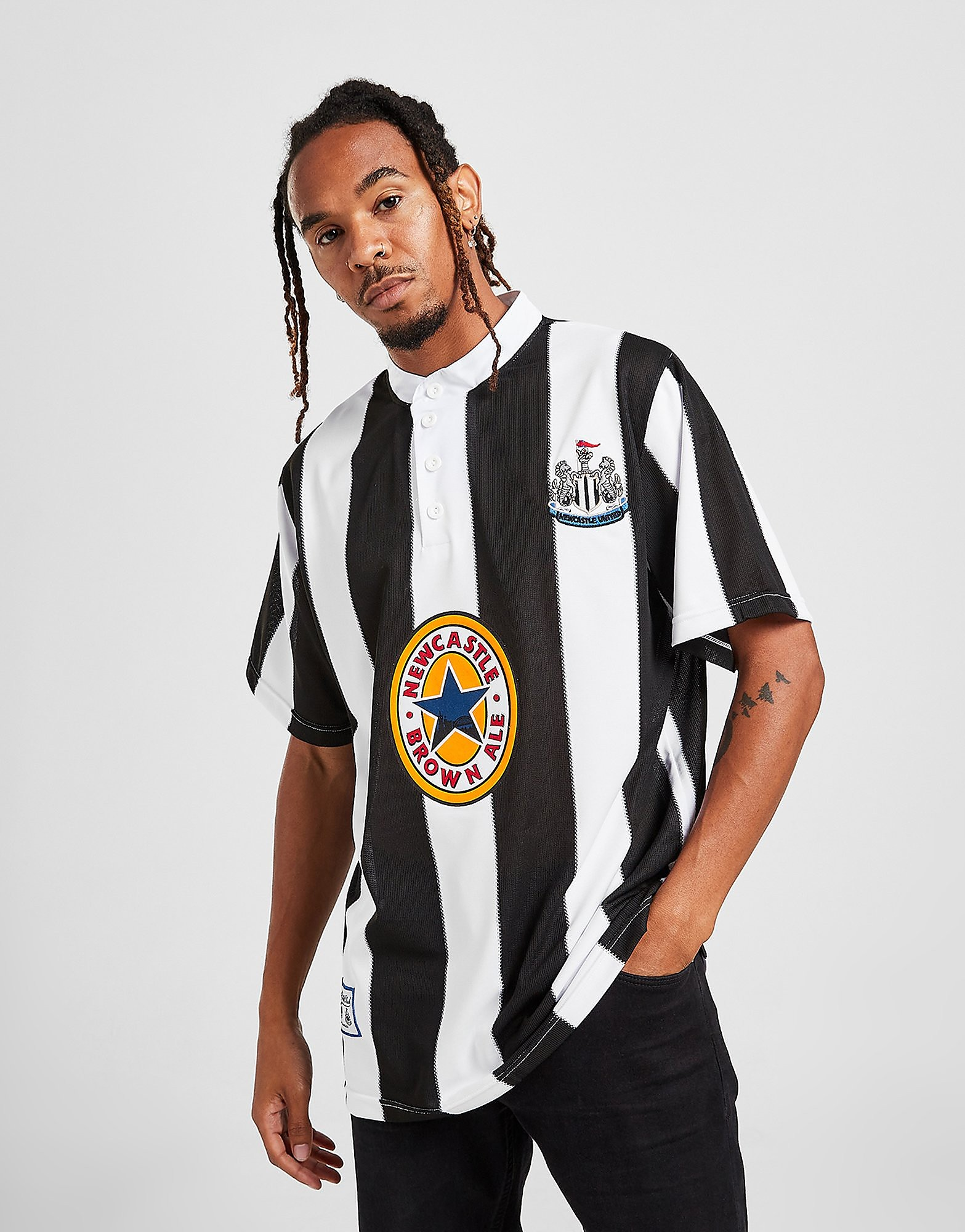 Score Draw Newcastle United FC '96 Heimat Shirt