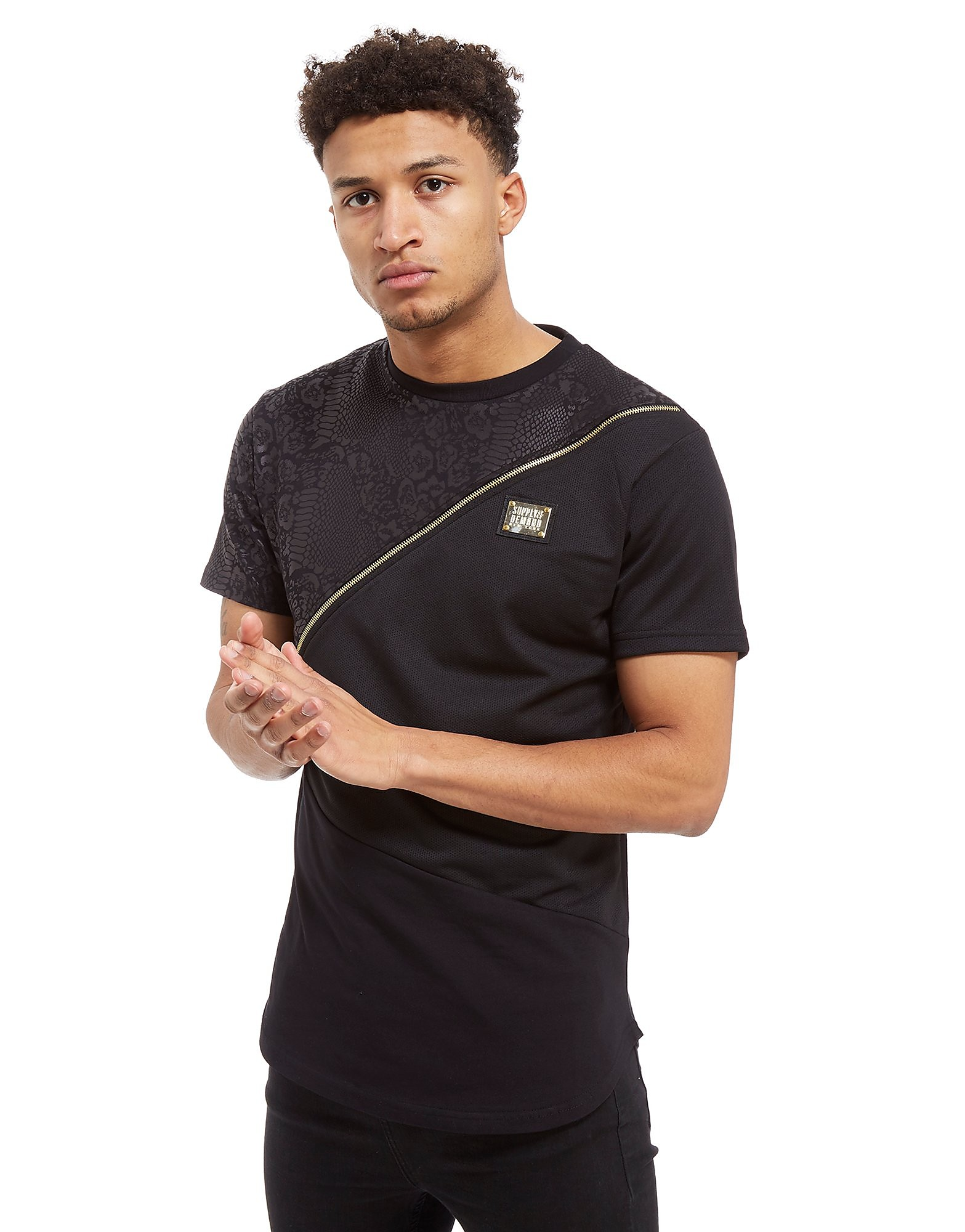 Supply & Demand Nove Slice Snake T-Shirt - Only at JD, Black