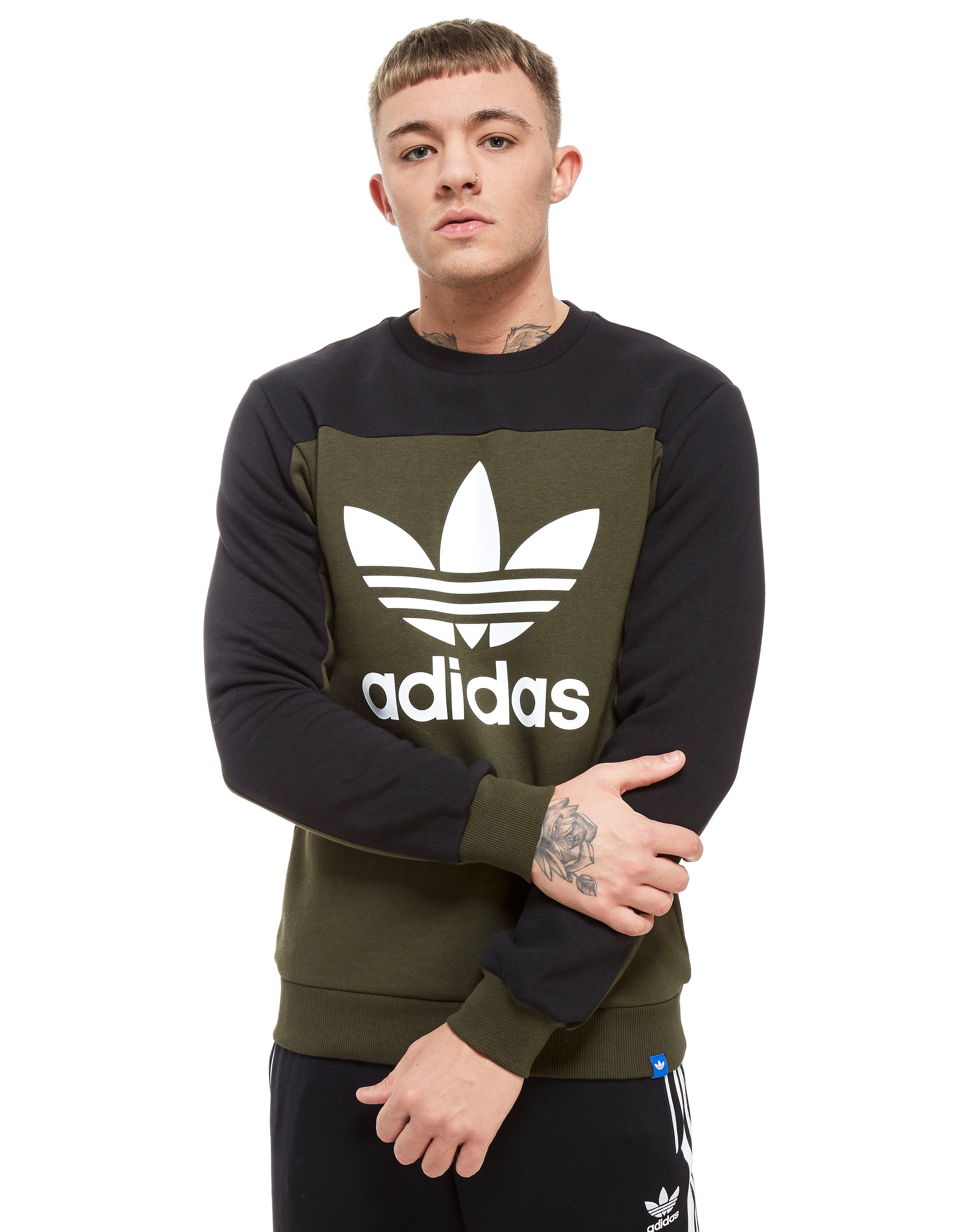 adidas Originals Core Stack Crew Sweatshirt