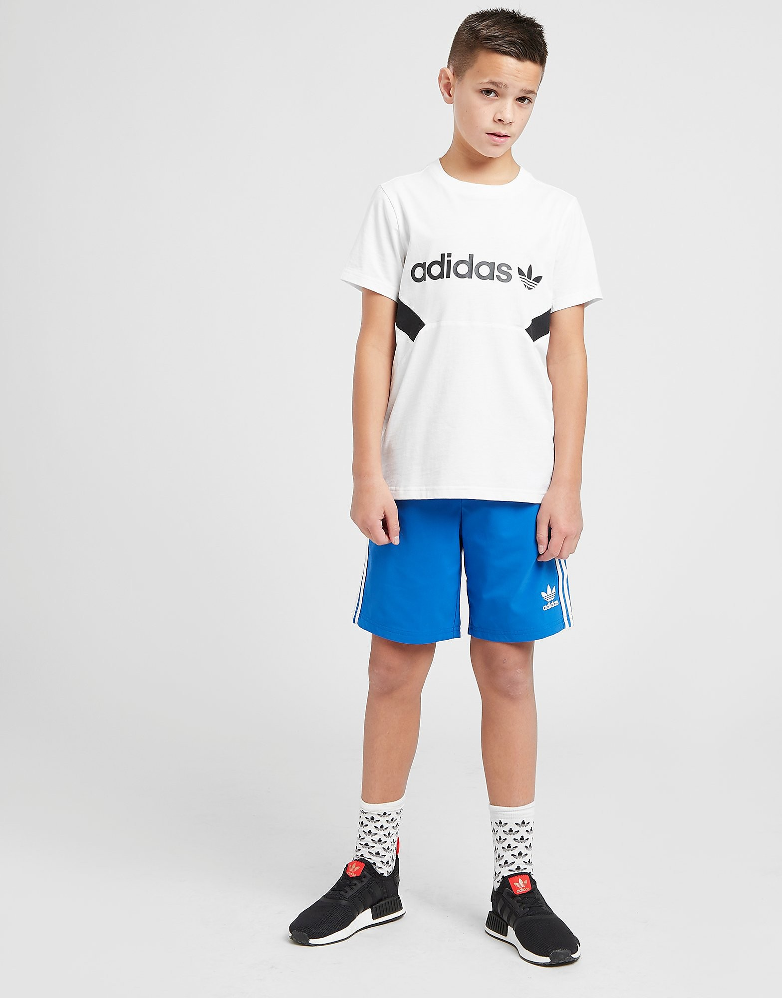 adidas Originals Trefoil Swim Shorts Junior