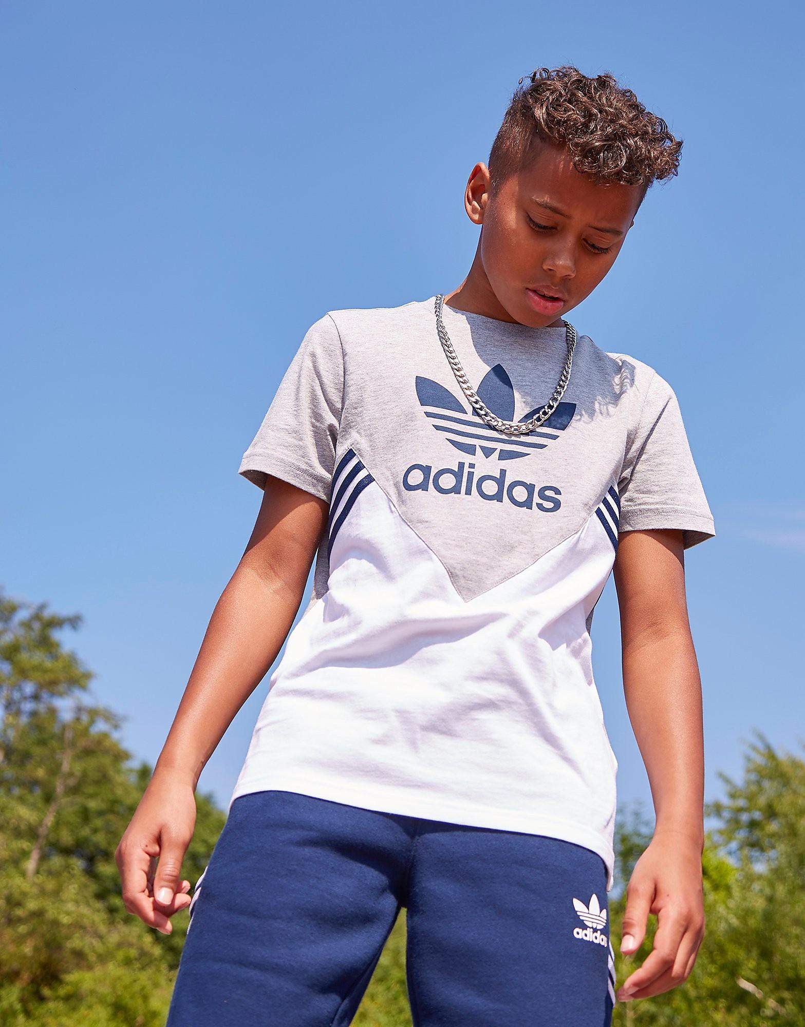 adidas Originals MOA Colourblock T-Shirt Junior