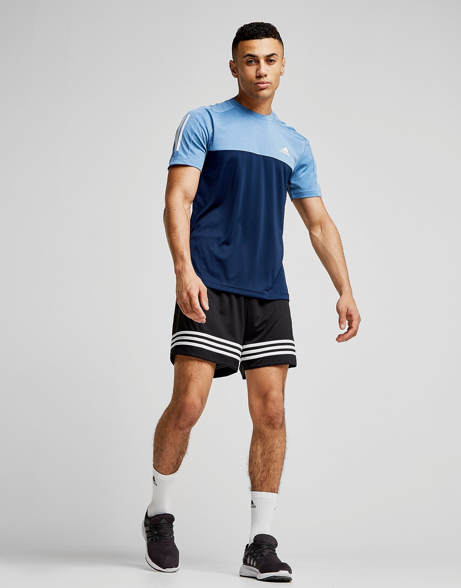 adidas Speed Poly T-Shirt Heren