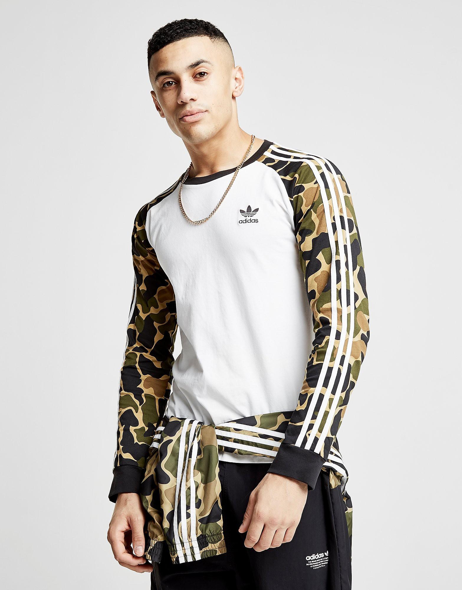 adidas Originals California Long Sleeve T-Shirt Heren