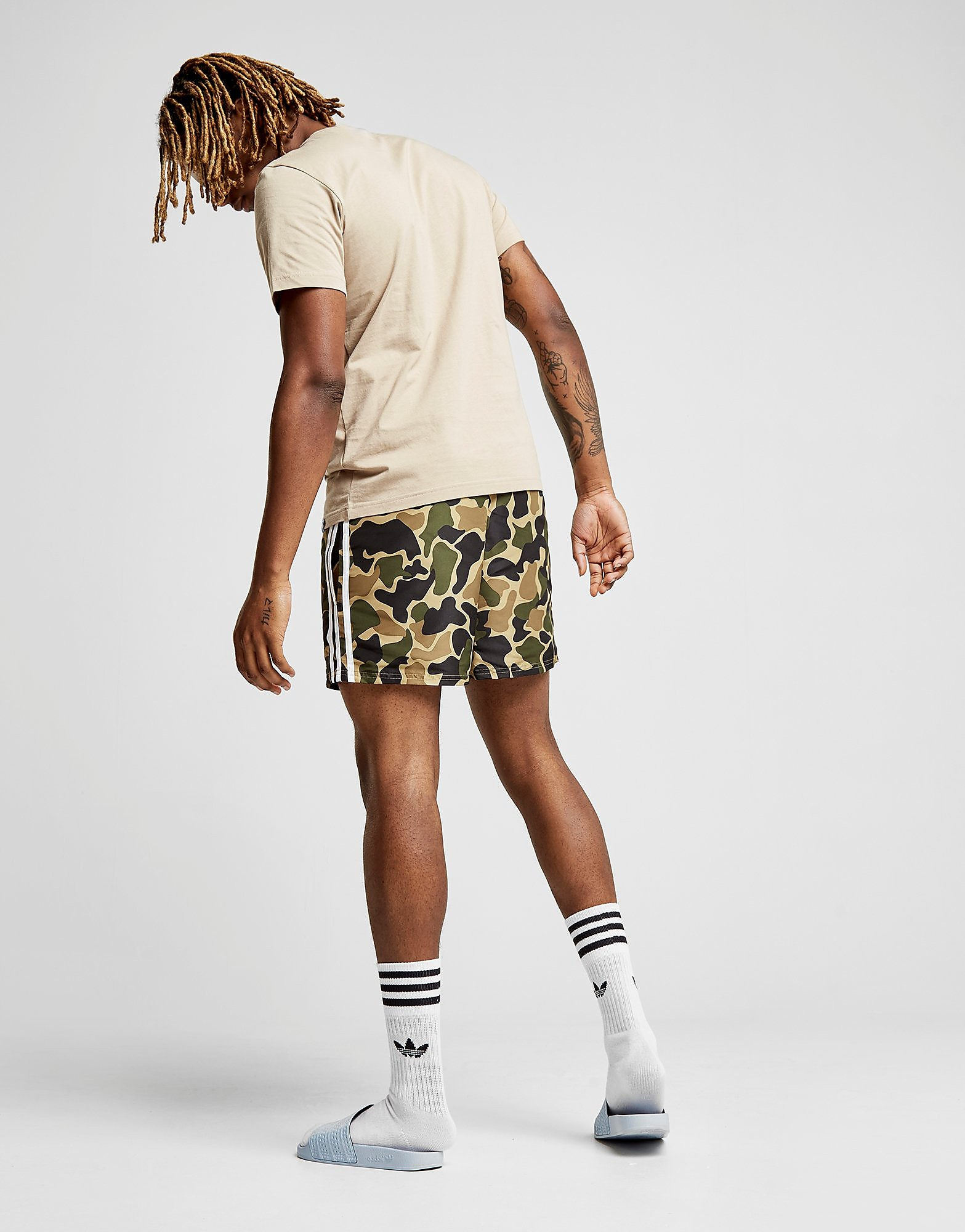 adidas Originals Woven Swim Shorts Heren