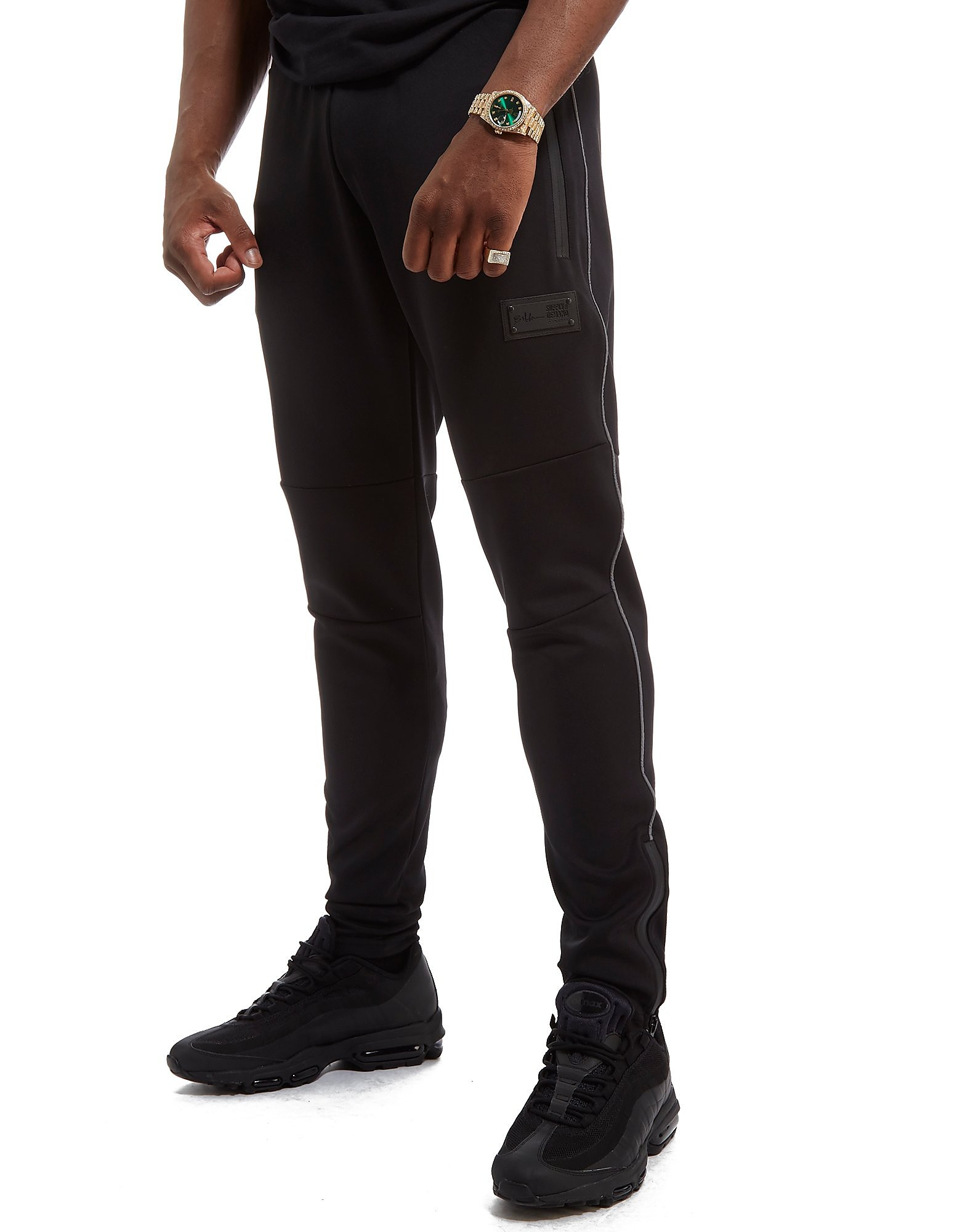 Supply & Demand x Bugzy Malone Technic Joggers - Only at JD - noir, noir