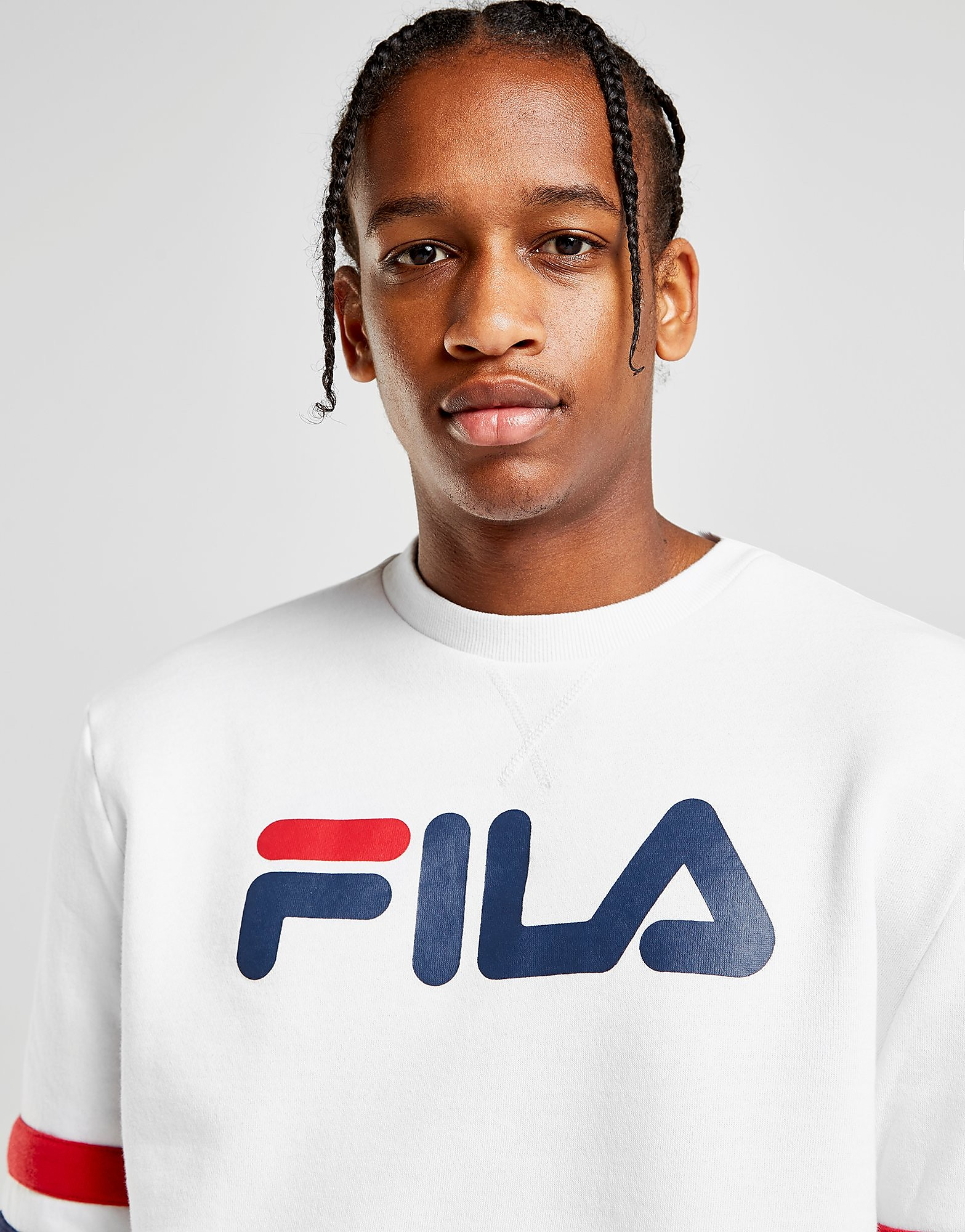 Fila Long Sleeve Crew Sweatshirt